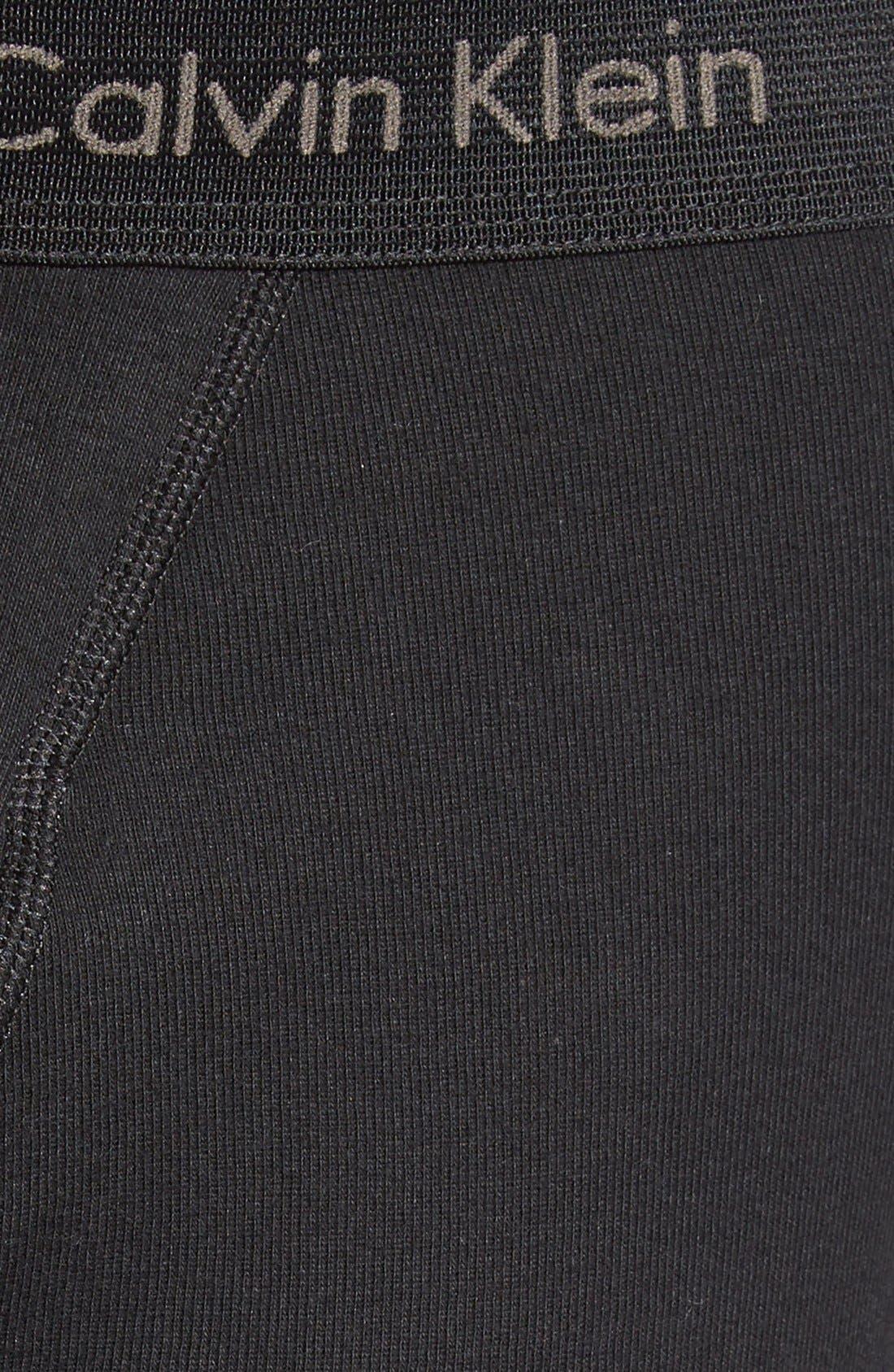 3-Pack Boxer Briefs,                             Alternate thumbnail 4, color,                             BLACK