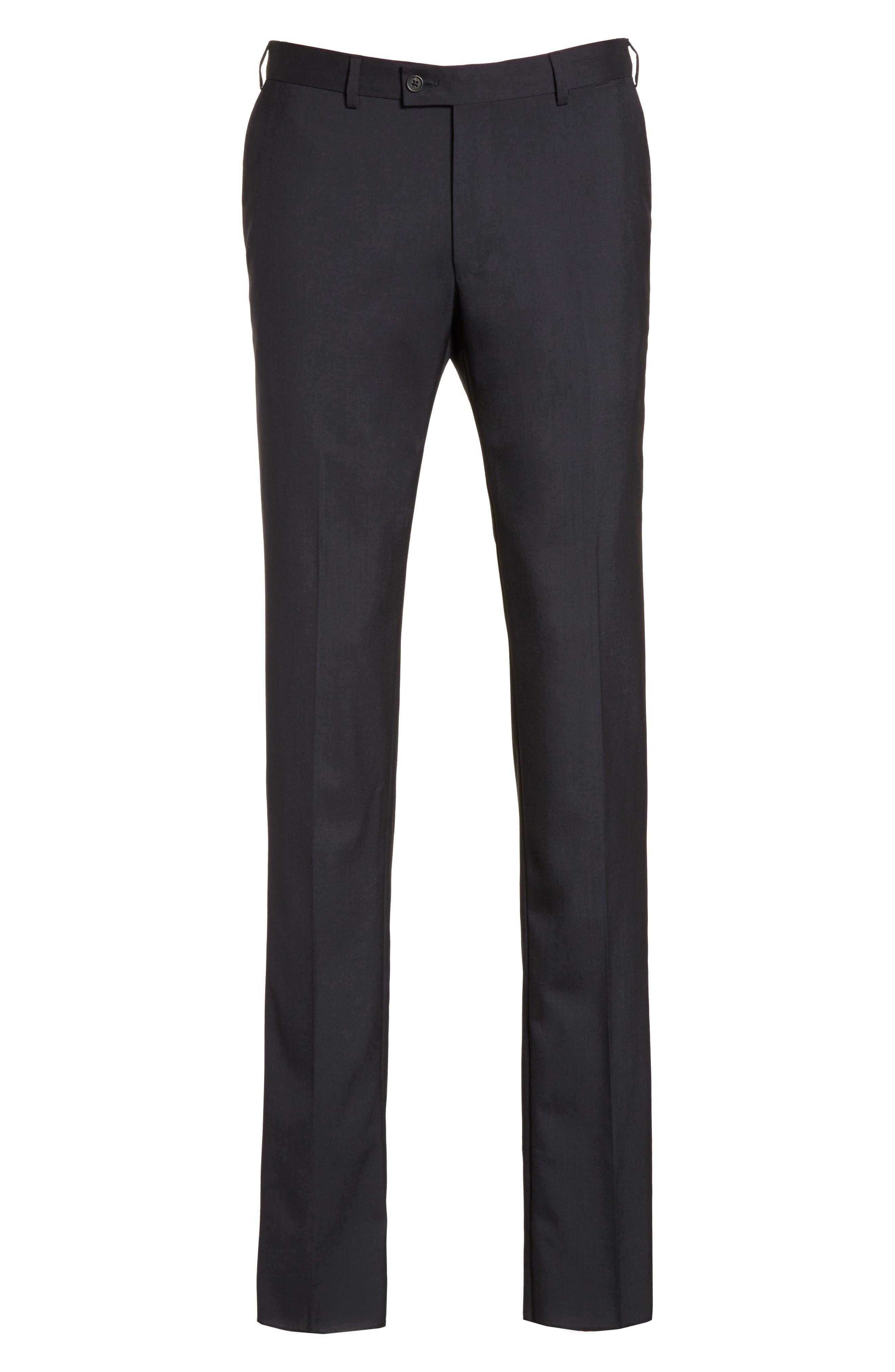 Tropical Wool Suit Trousers,                             Alternate thumbnail 11, color,
