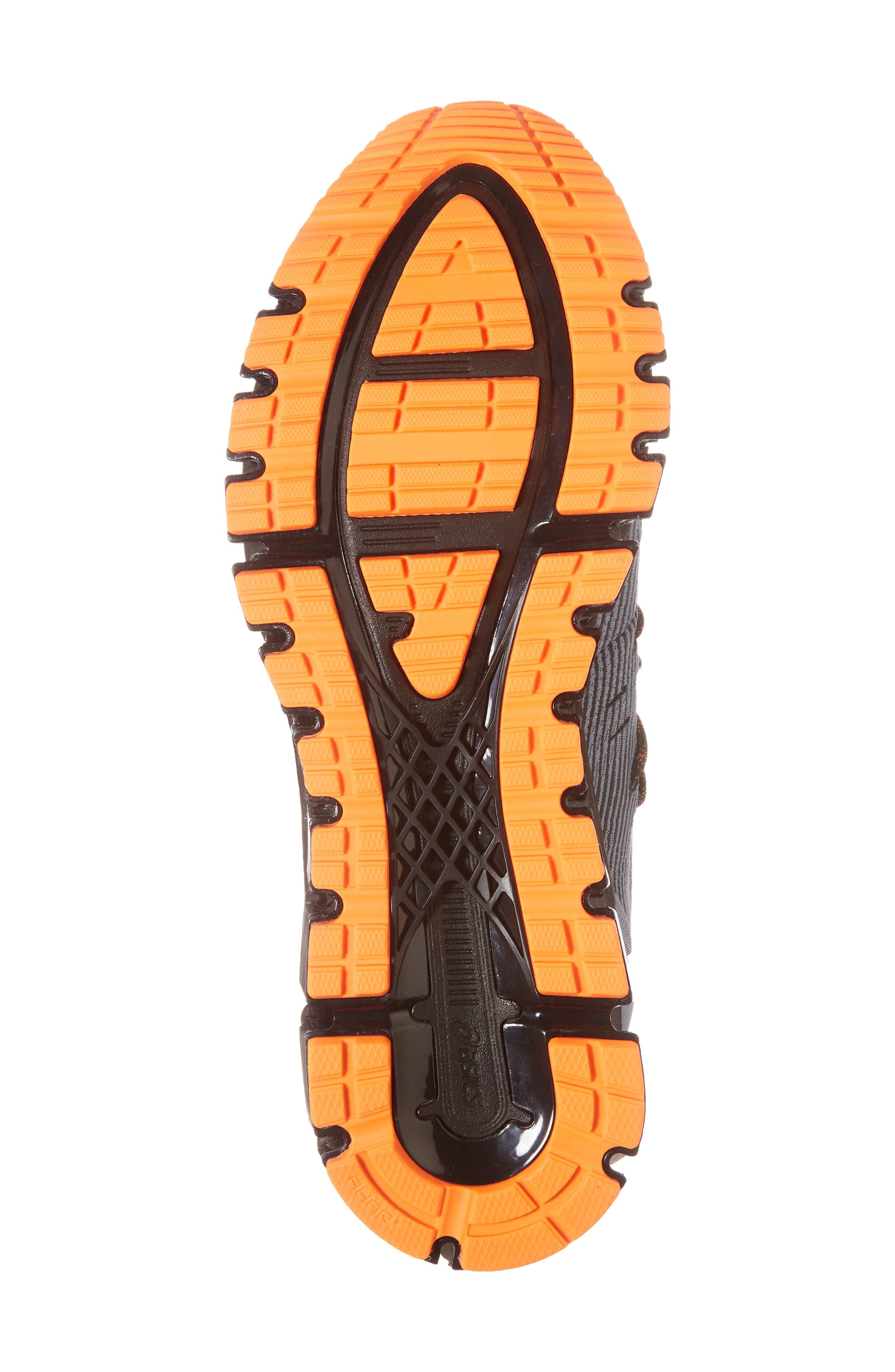 GEL-Quantum 360 4 Running Shoe,                             Alternate thumbnail 6, color,                             IRON CLAD/ BLACK