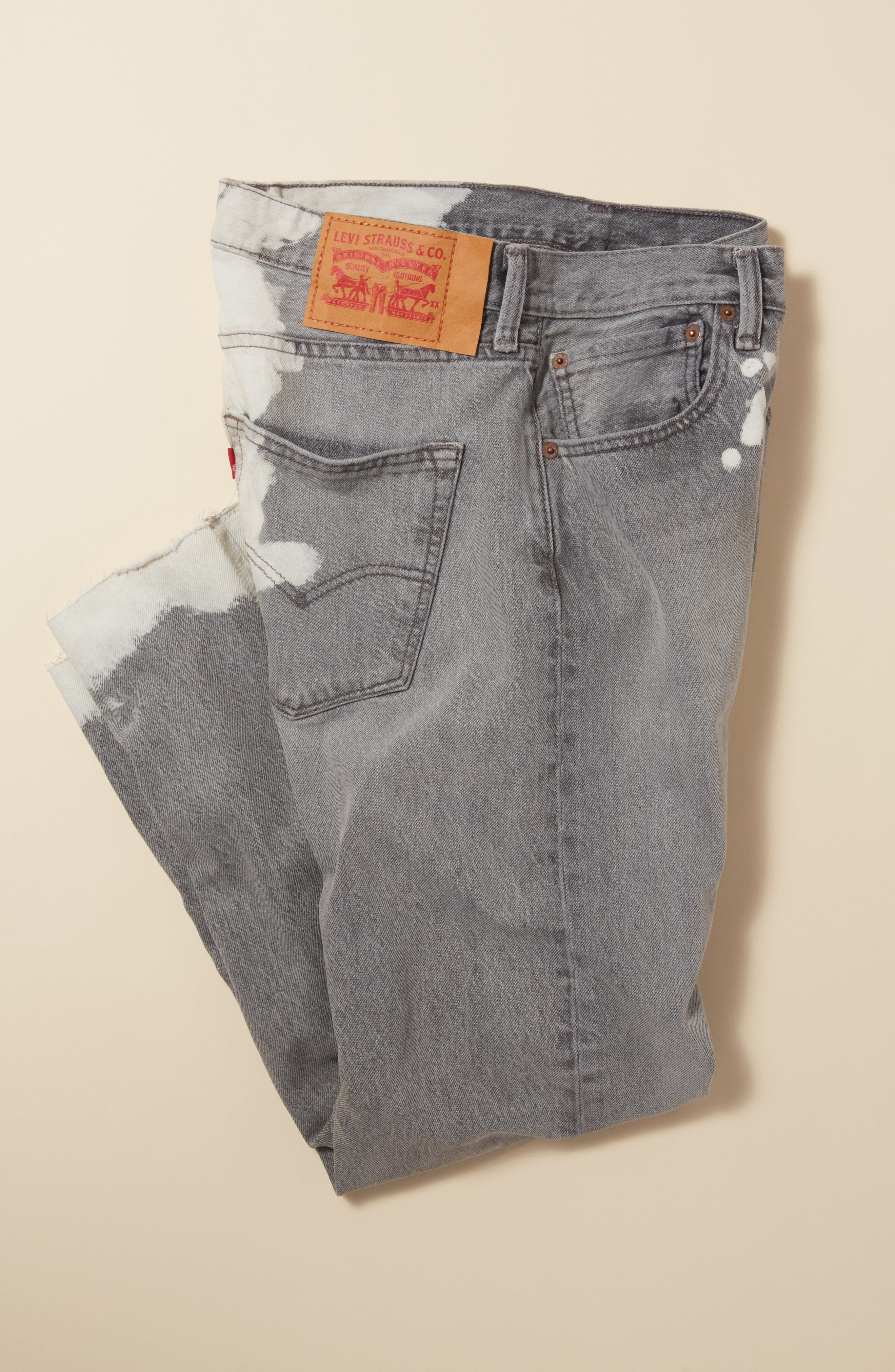 501<sup>™</sup> Straight Leg Jeans,                             Alternate thumbnail 9, color,                             020