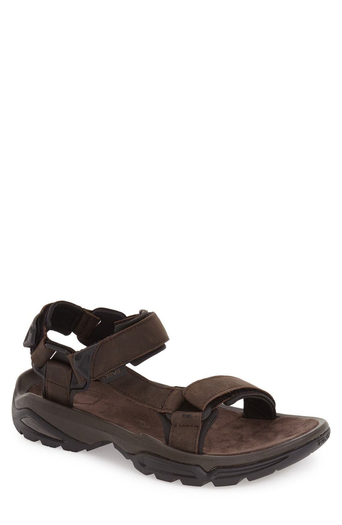 TEVA 'Terra Fi 4' Sport Sandal, Main, color, TURKISH COFFEE