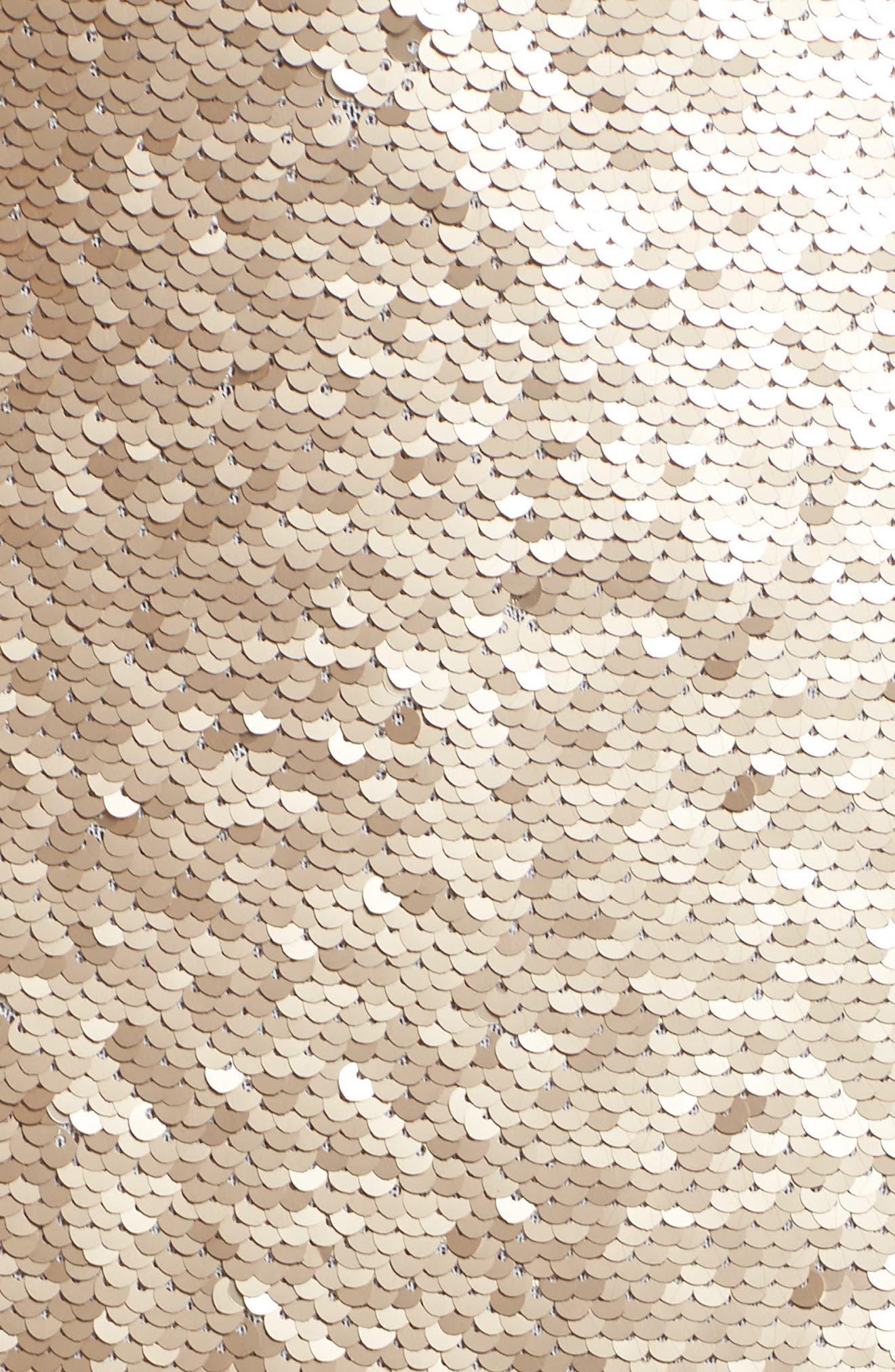 Paillette Pencil Skirt,                             Alternate thumbnail 5, color,                             710