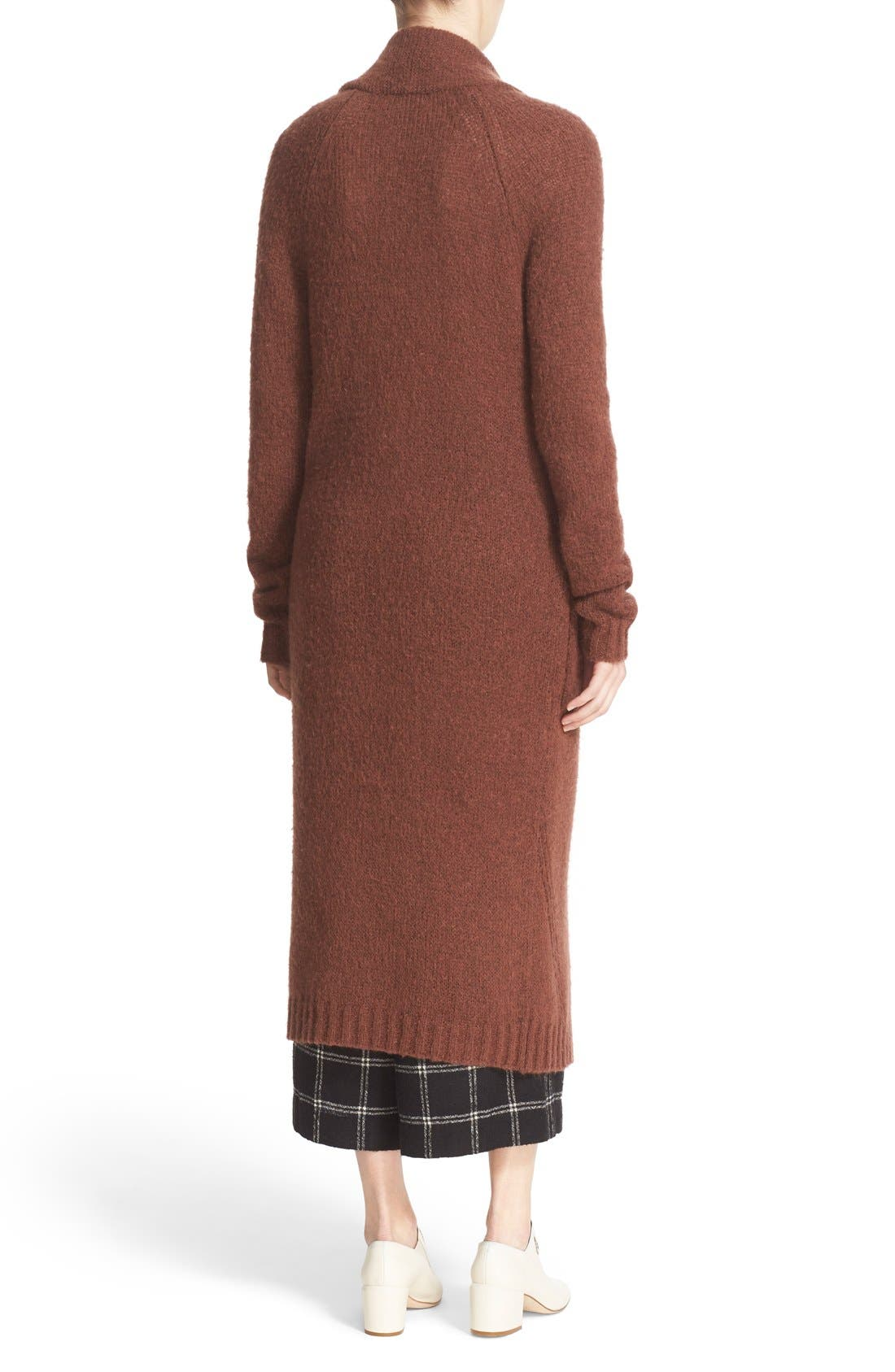 Two-Button Long Cardigan,                             Alternate thumbnail 2, color,                             200