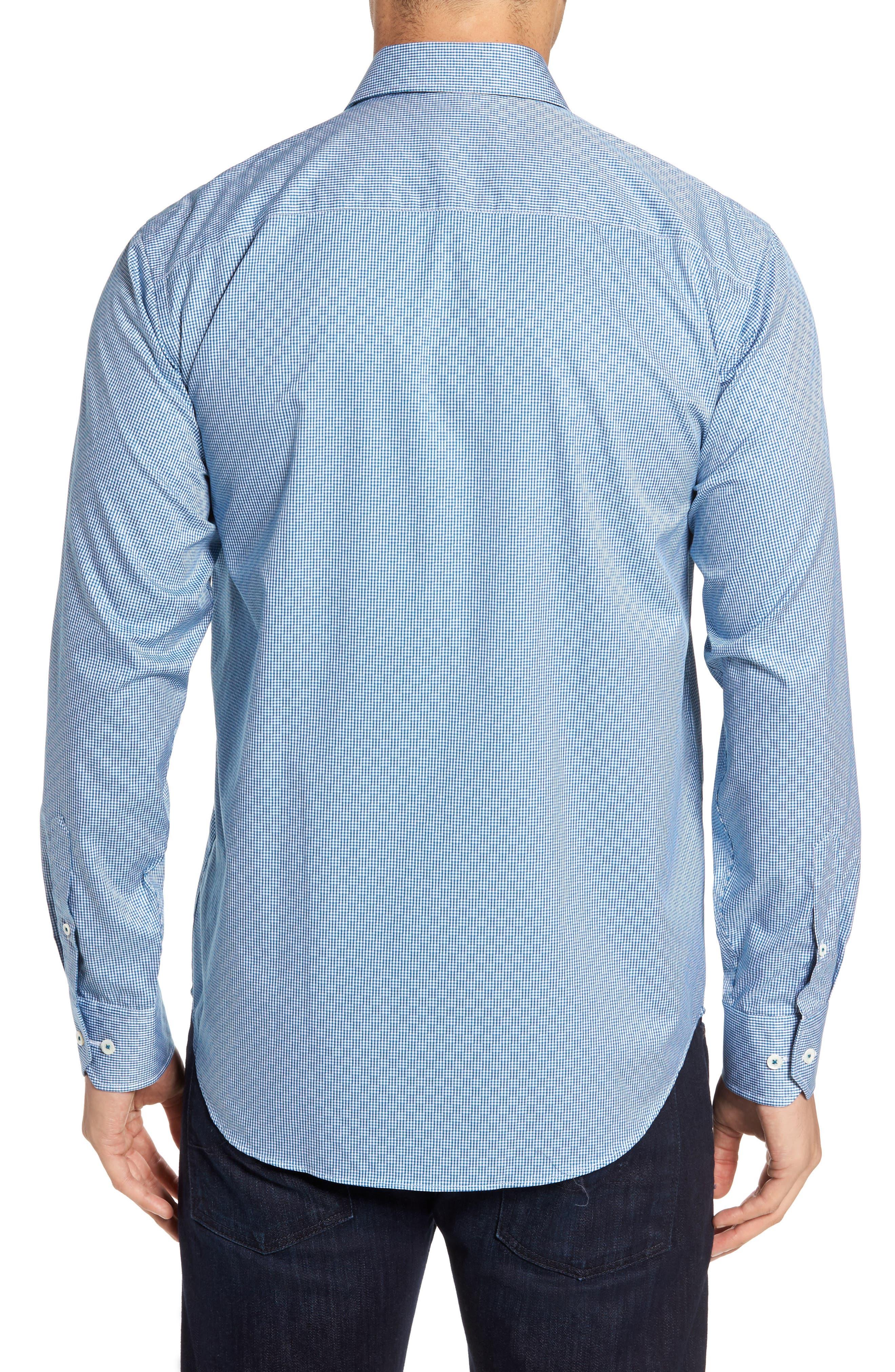 Classic Fit Check Sport Shirt,                             Alternate thumbnail 2, color,                             445