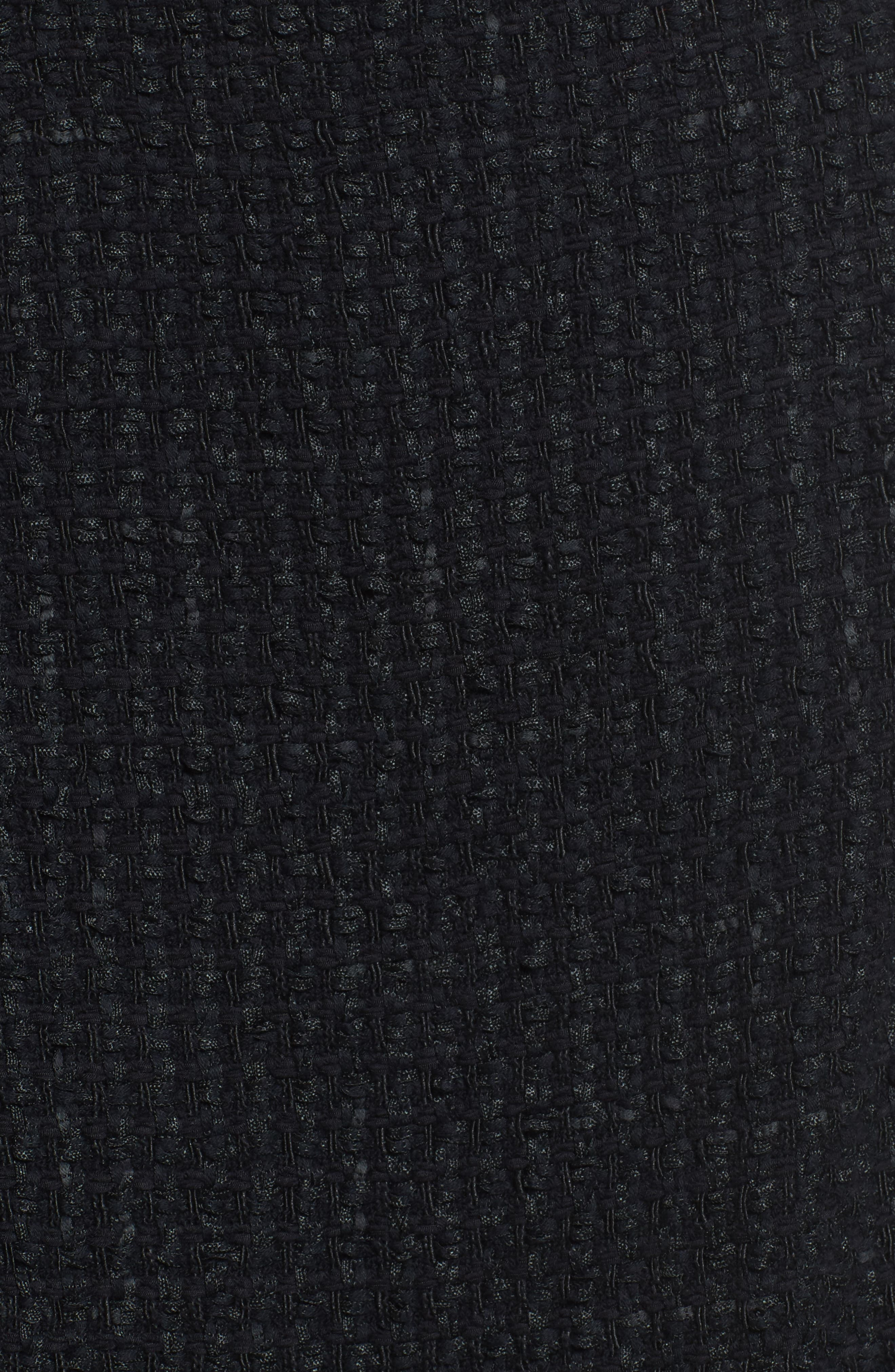 NIC + ZOE Majestic Tweed Skirt,                             Alternate thumbnail 5, color,                             004