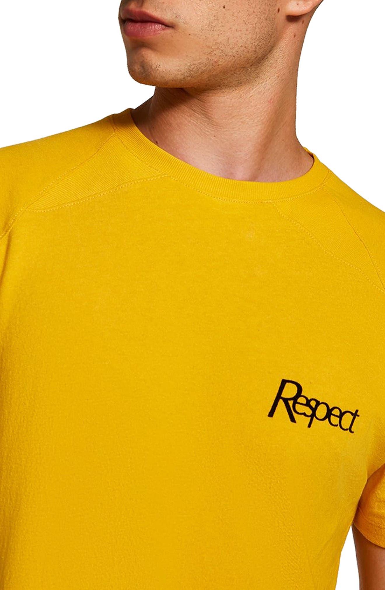 Respect Classic Fit T-Shirt,                             Alternate thumbnail 3, color,                             710