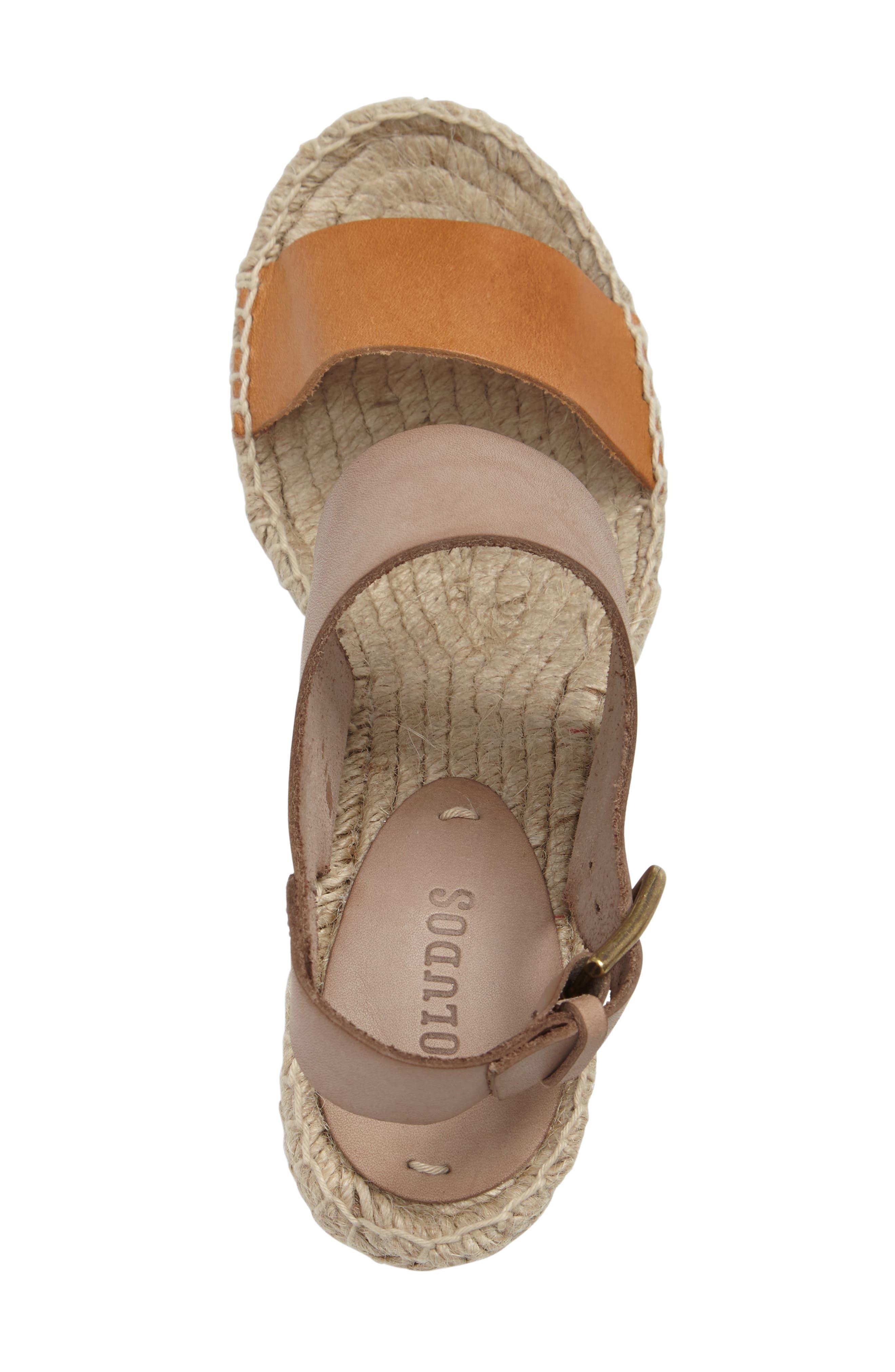 Espadrille Wedge Sandal,                             Alternate thumbnail 3, color,                             022