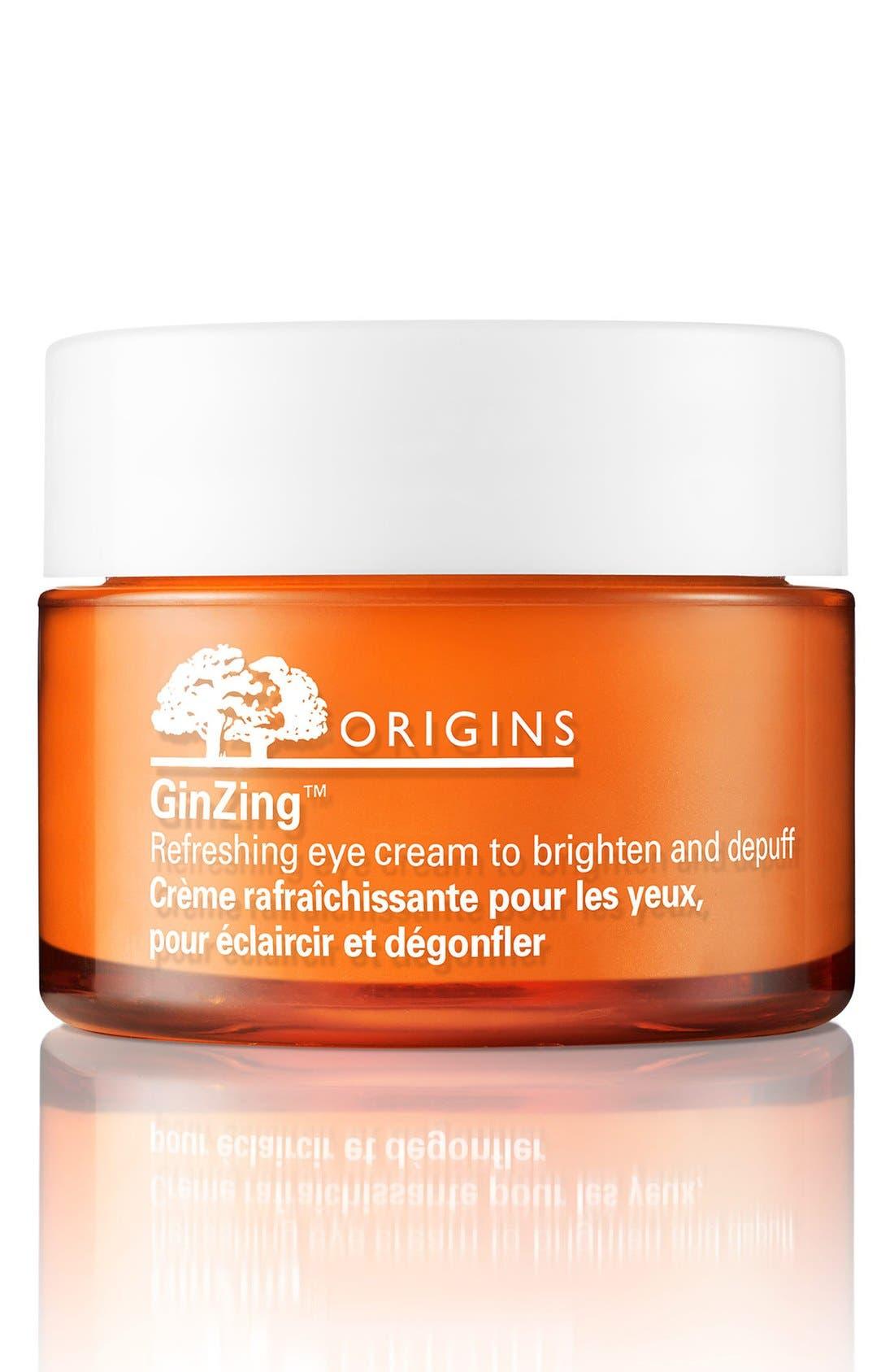 GinZing<sup>™</sup> Refreshing Eye Cream to Brighten & Depuff,                         Main,                         color, NO COLOR