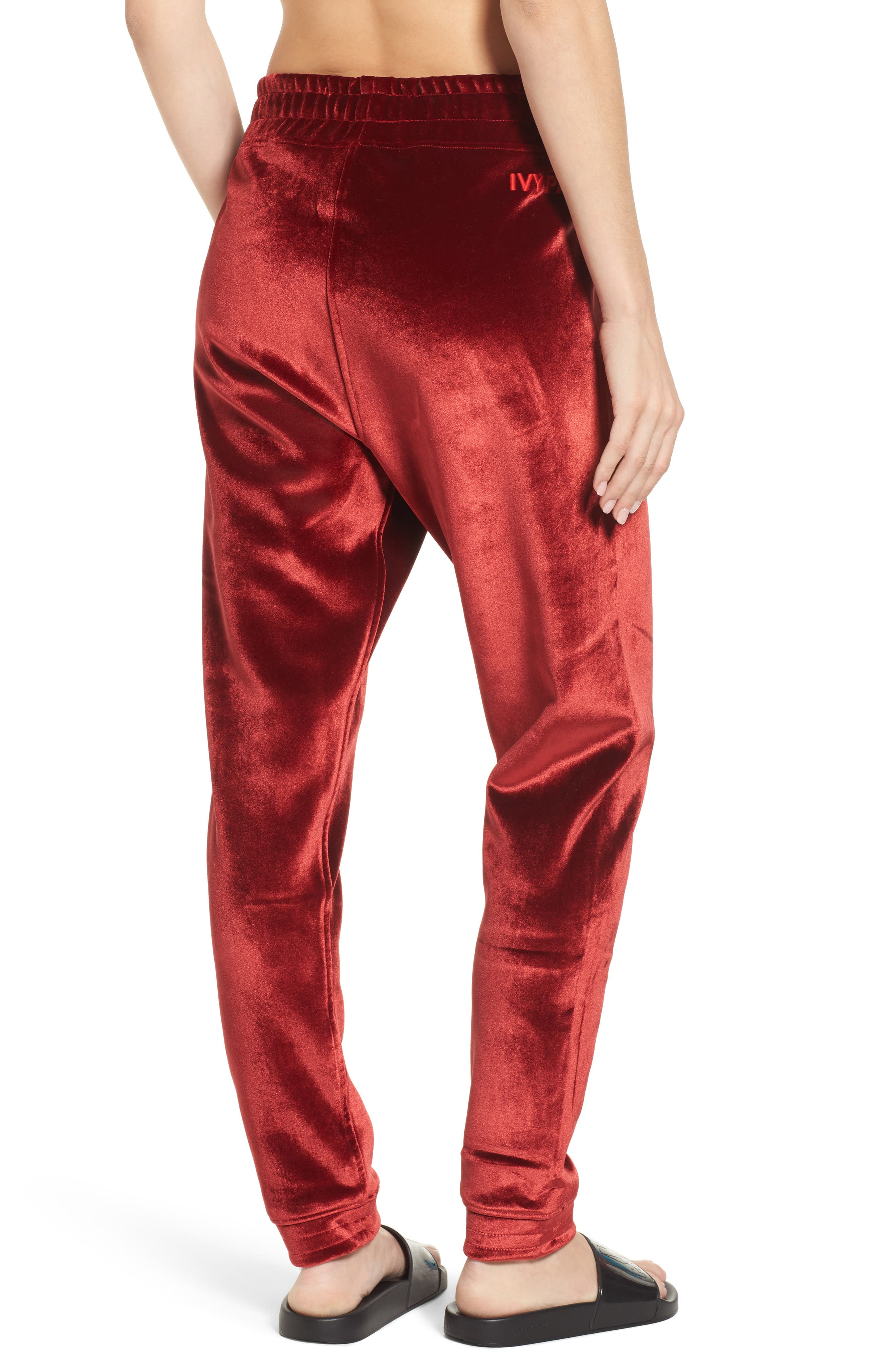Velvet Jogger Pants,                             Alternate thumbnail 2, color,                             600