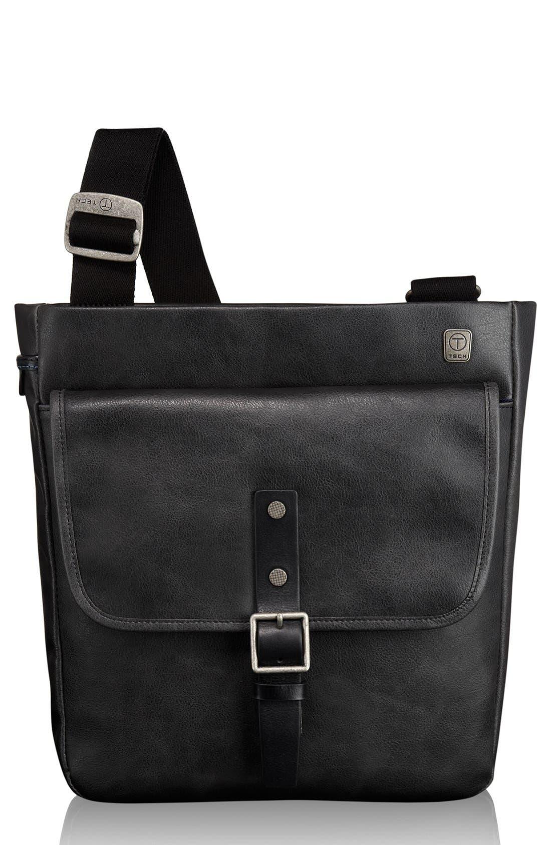 T-Tech by Tumi 'Forge - Pueblo' Top Zip Crossbody Bag, Main, color, 001