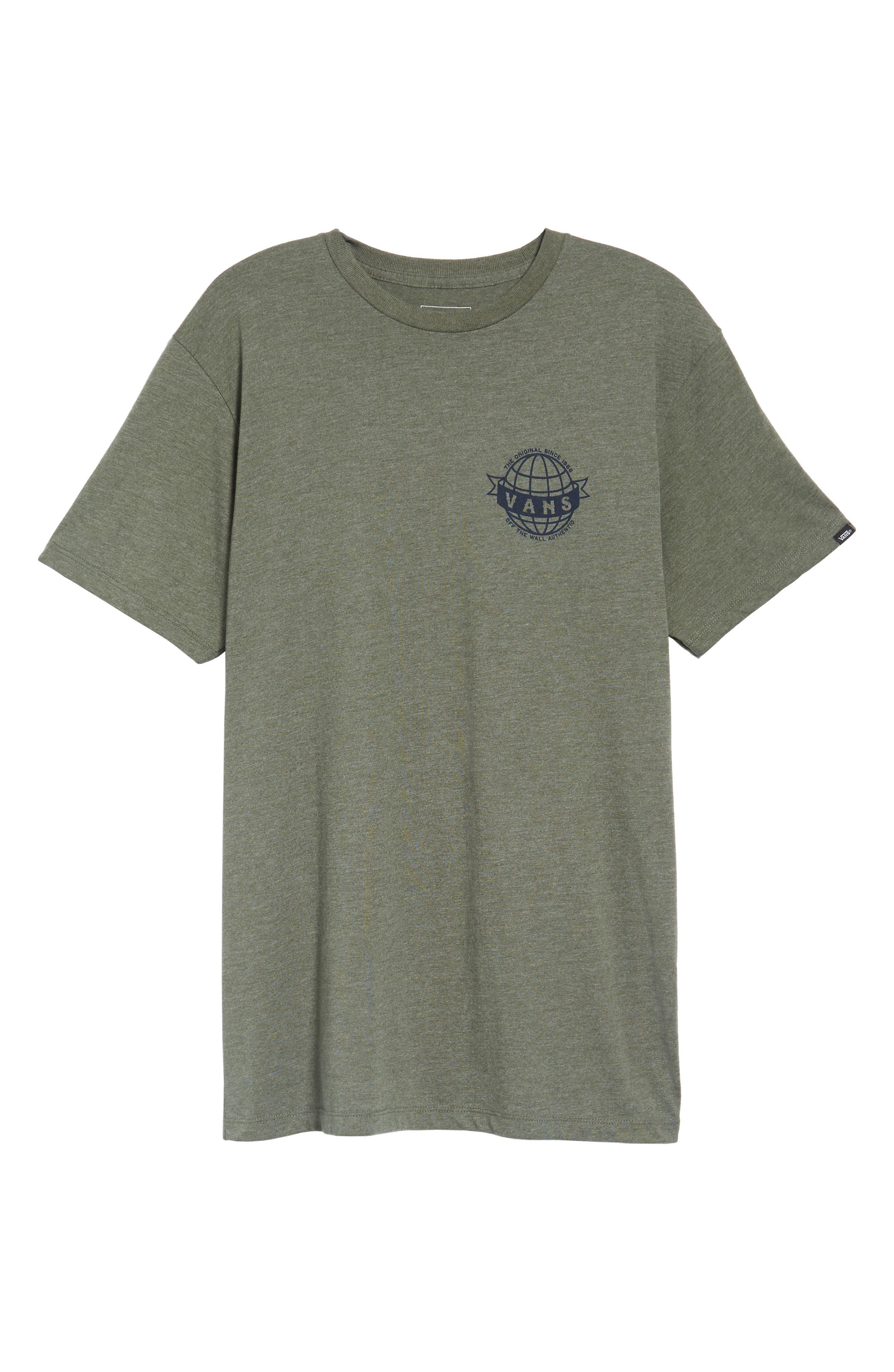 Global Landing Logo Graphic T-Shirt,                             Alternate thumbnail 6, color,                             301