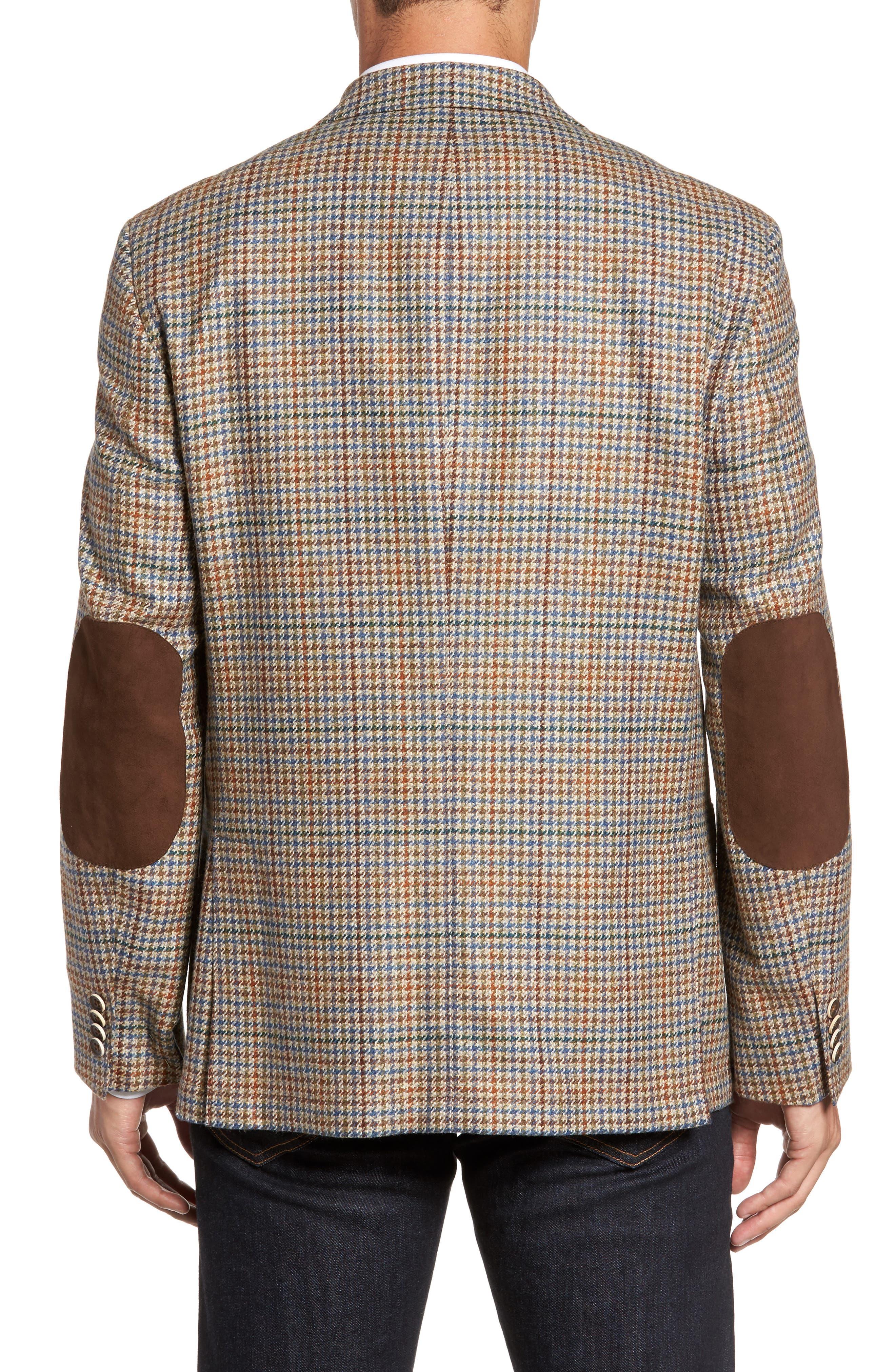 Houndstooth Wool Blend Sport Coat,                             Alternate thumbnail 2, color,                             250