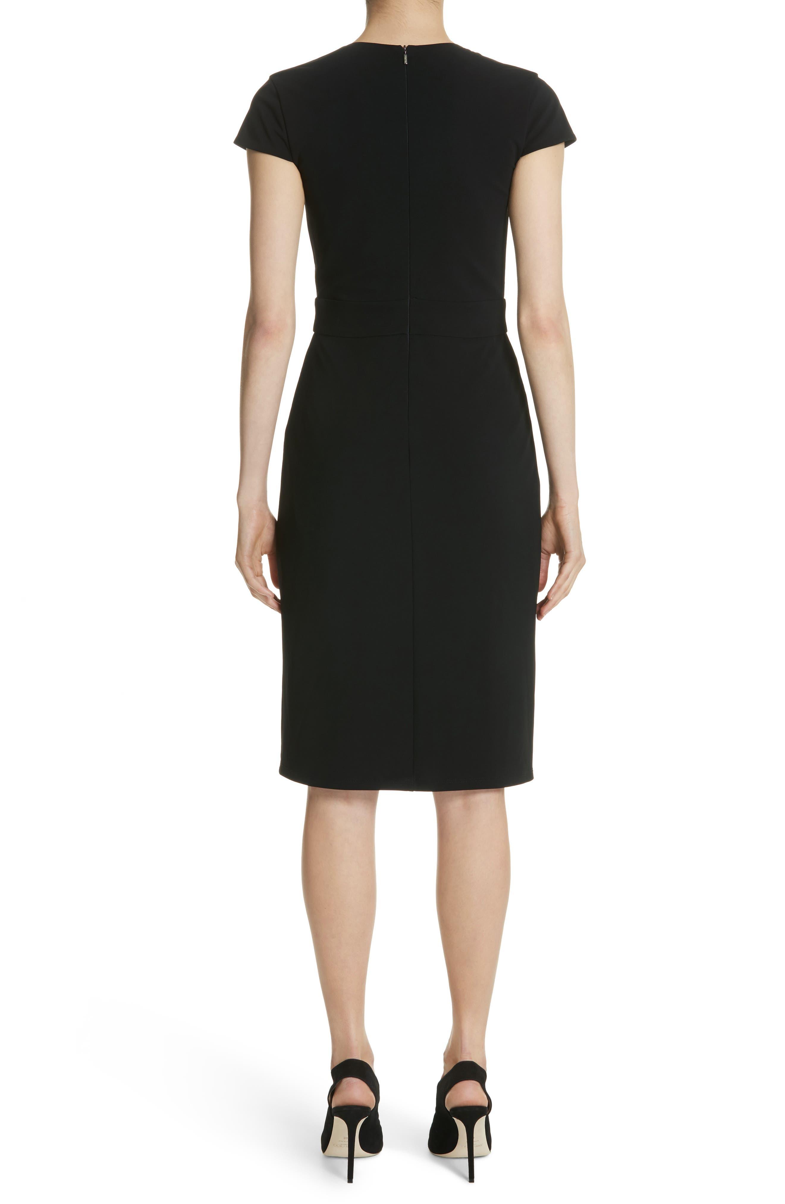 Feluca Surplice Dress,                             Alternate thumbnail 2, color,                             001