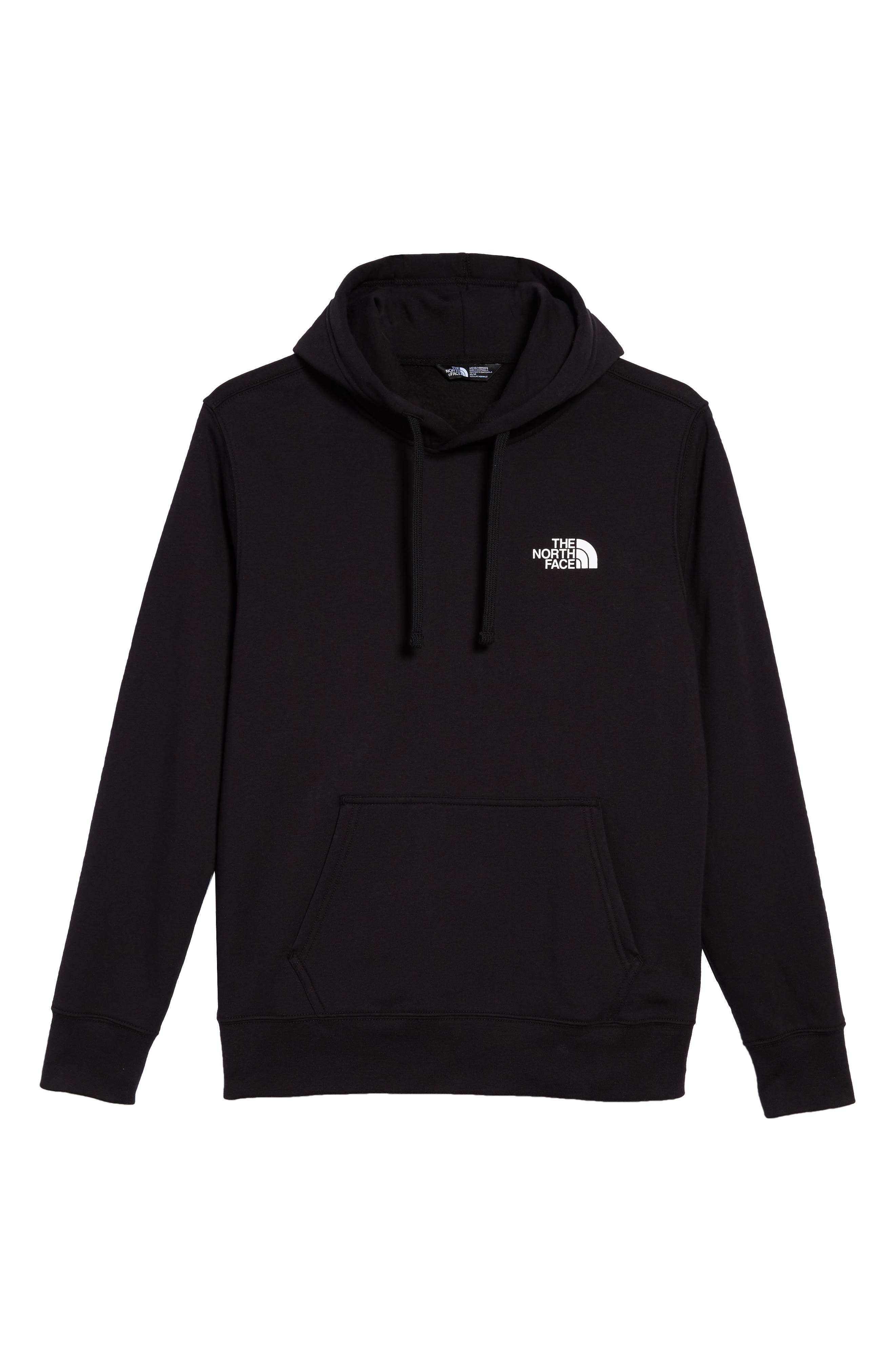 Red Box Hoodie,                             Alternate thumbnail 6, color,                             001