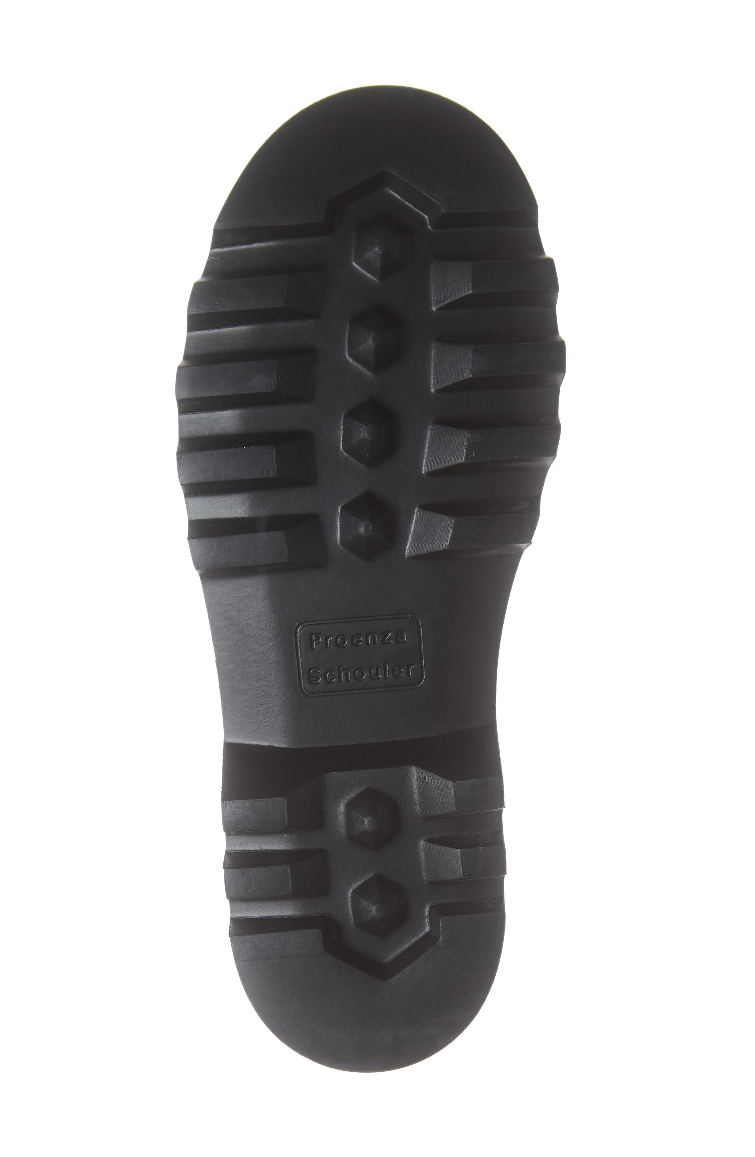 Hiker Boot,                             Alternate thumbnail 6, color,                             ECRU/ BLACK