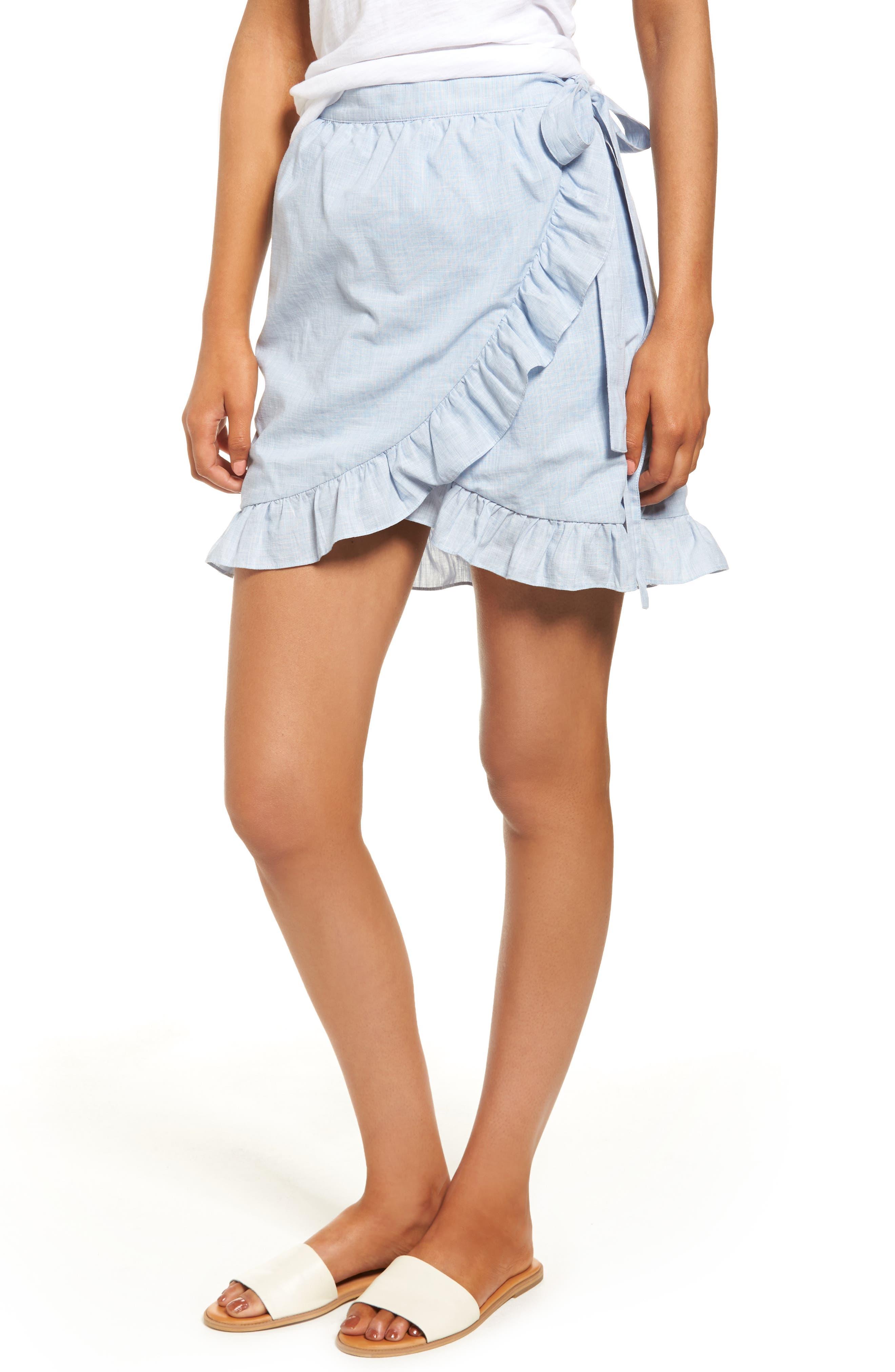 Meadow Wrap Skirt,                         Main,                         color, 400