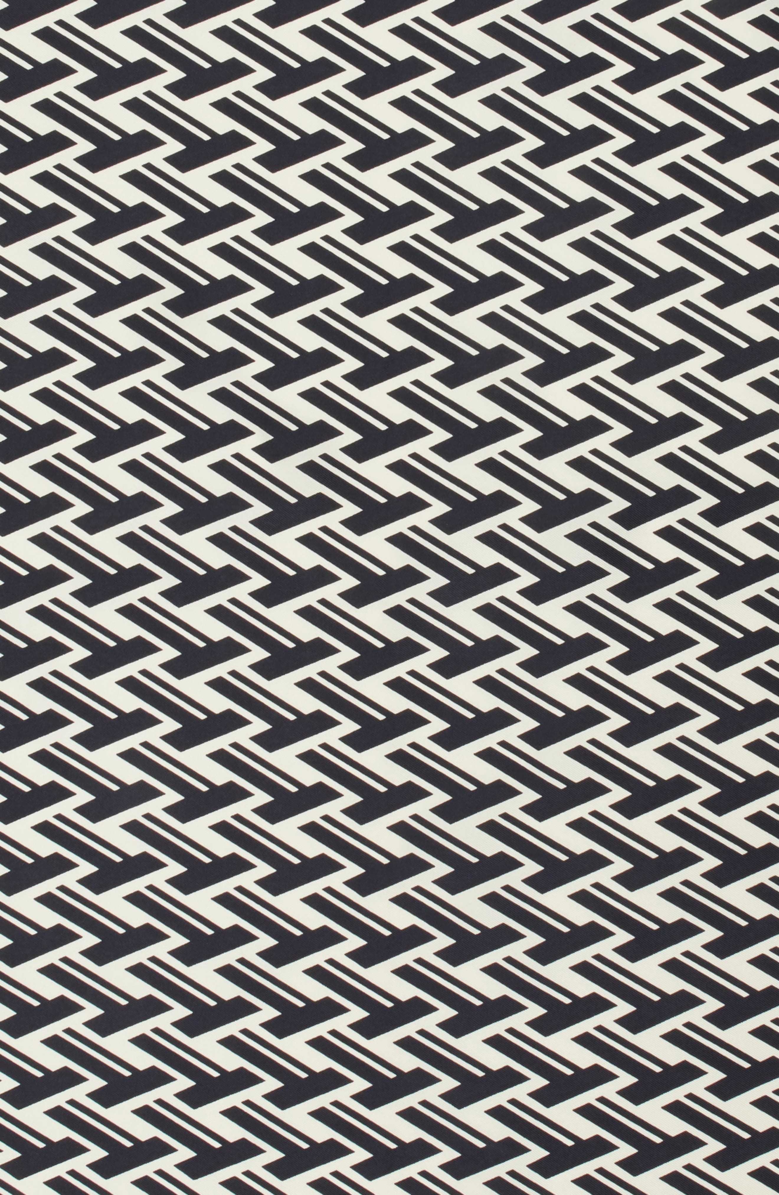 T Lattice Silk Neckerchief,                             Alternate thumbnail 4, color,                             405
