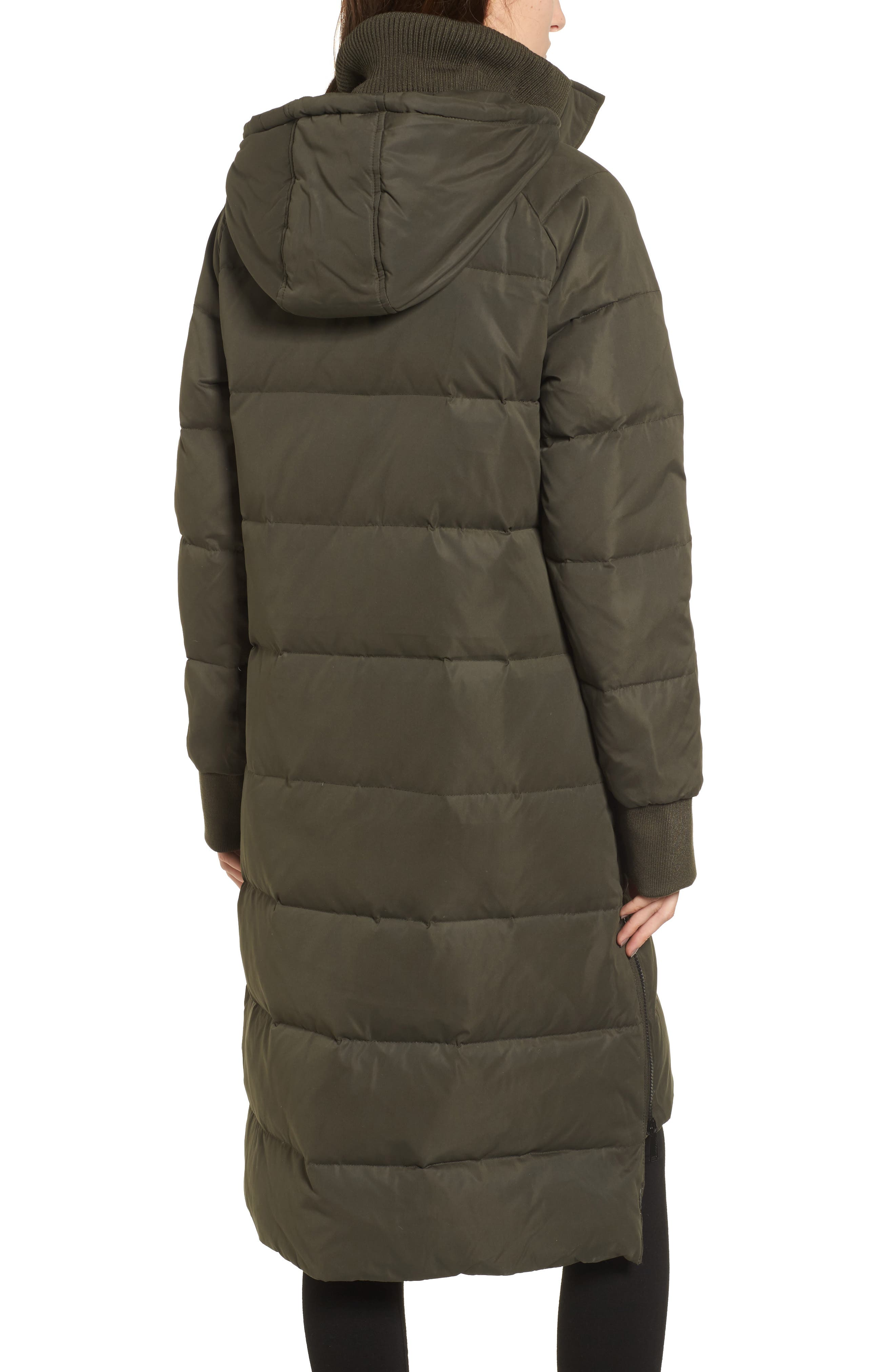 Down & Feather Fill Puffer Jacket,                             Alternate thumbnail 2, color,                             344