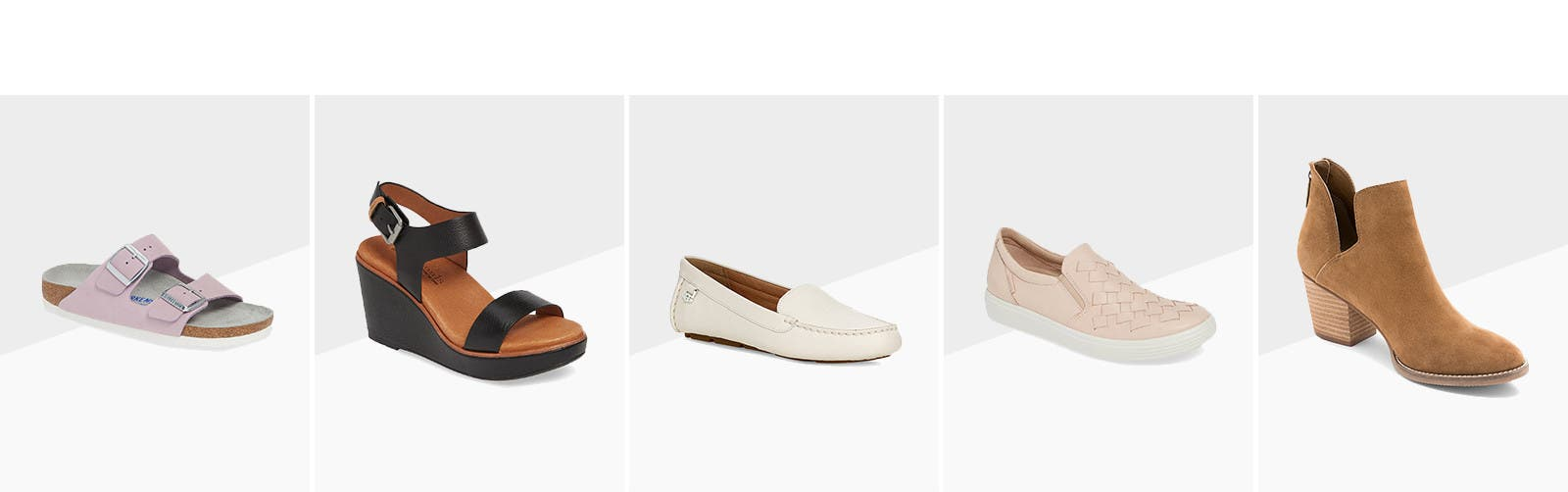 Comfortable shoes for every look.