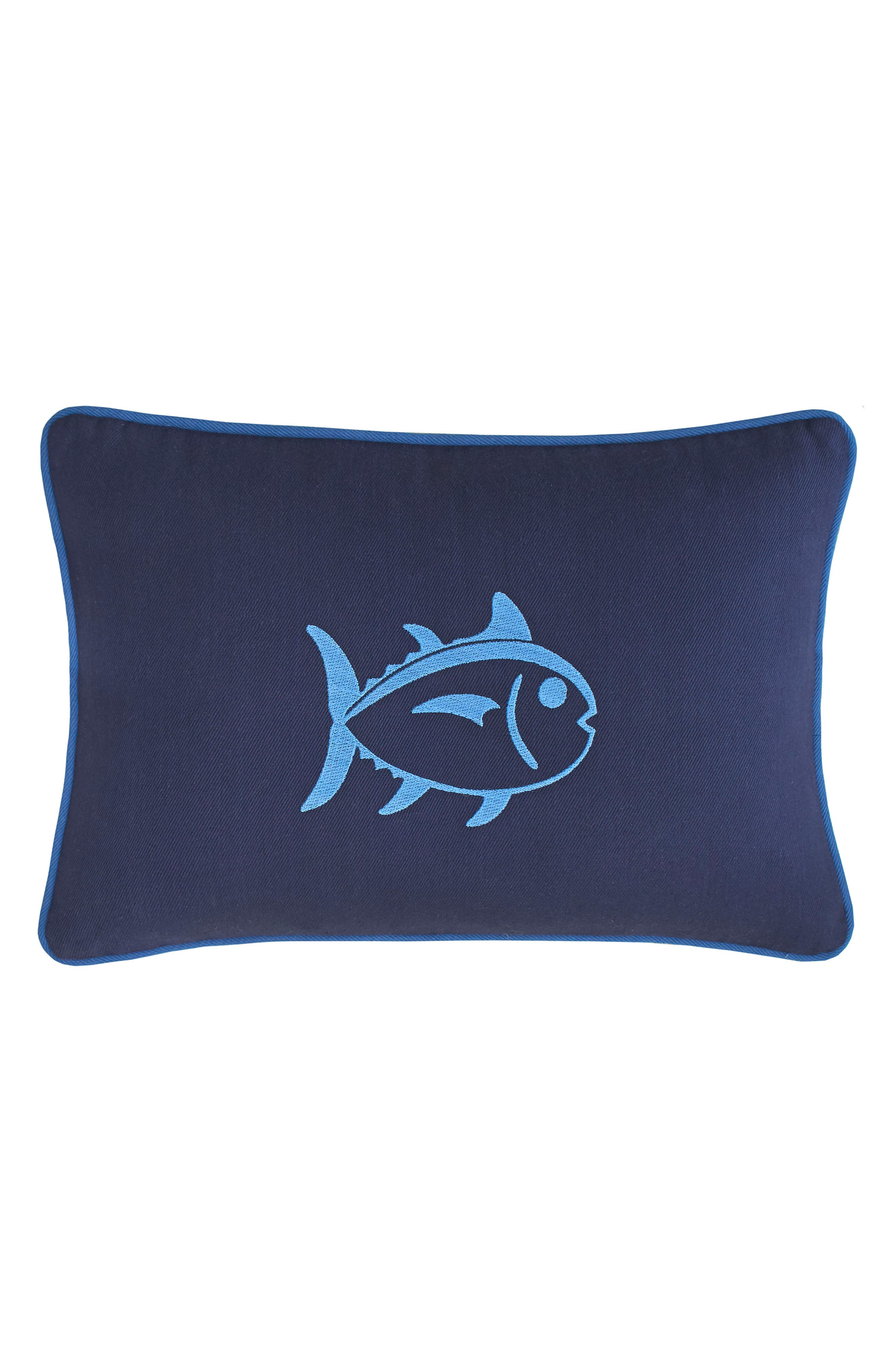 Dock Street Stripe Skipjack Accent Pillow,                             Main thumbnail 1, color,                             400