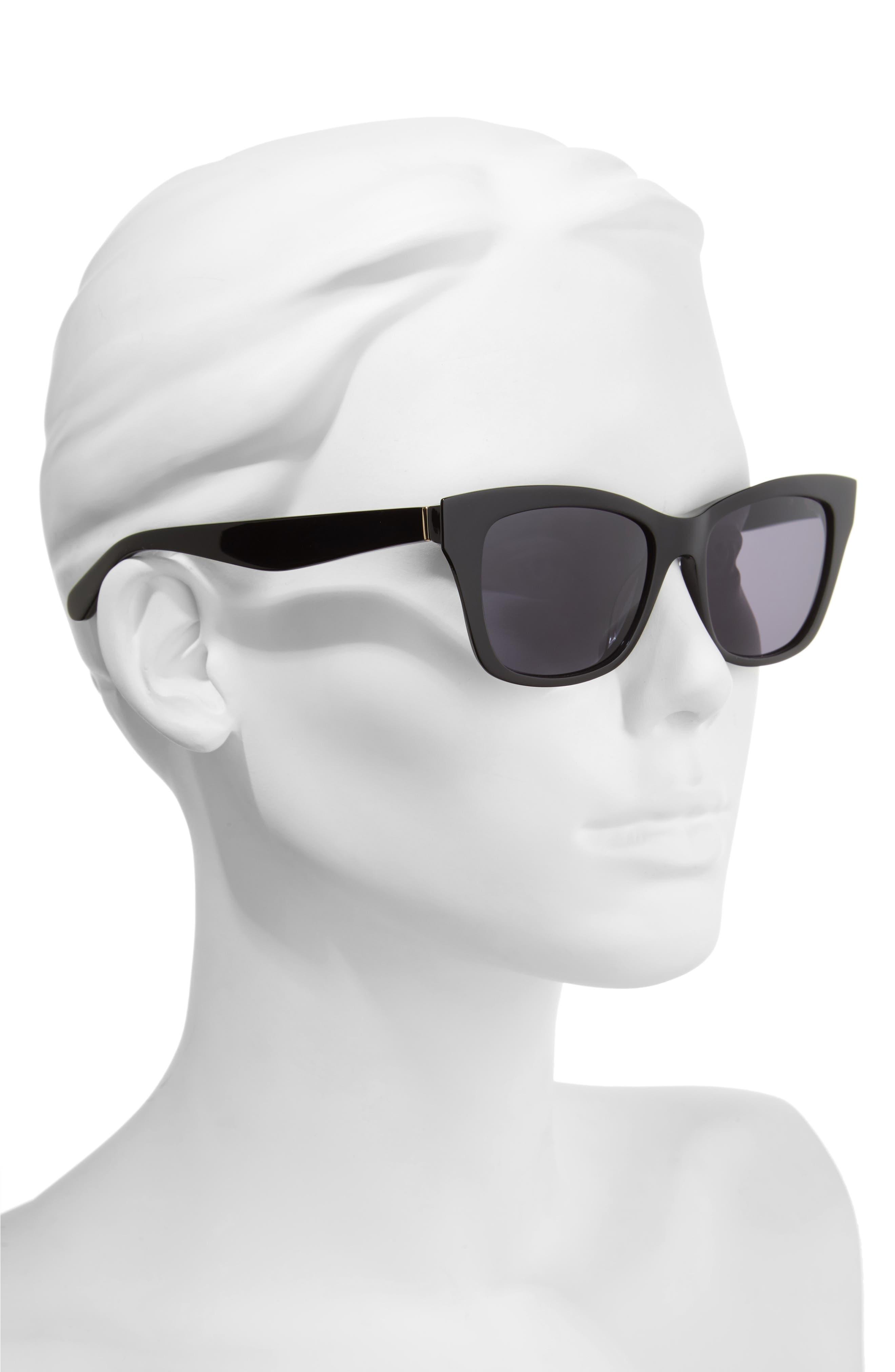 jenae 53mm sunglasses,                             Alternate thumbnail 2, color,                             001