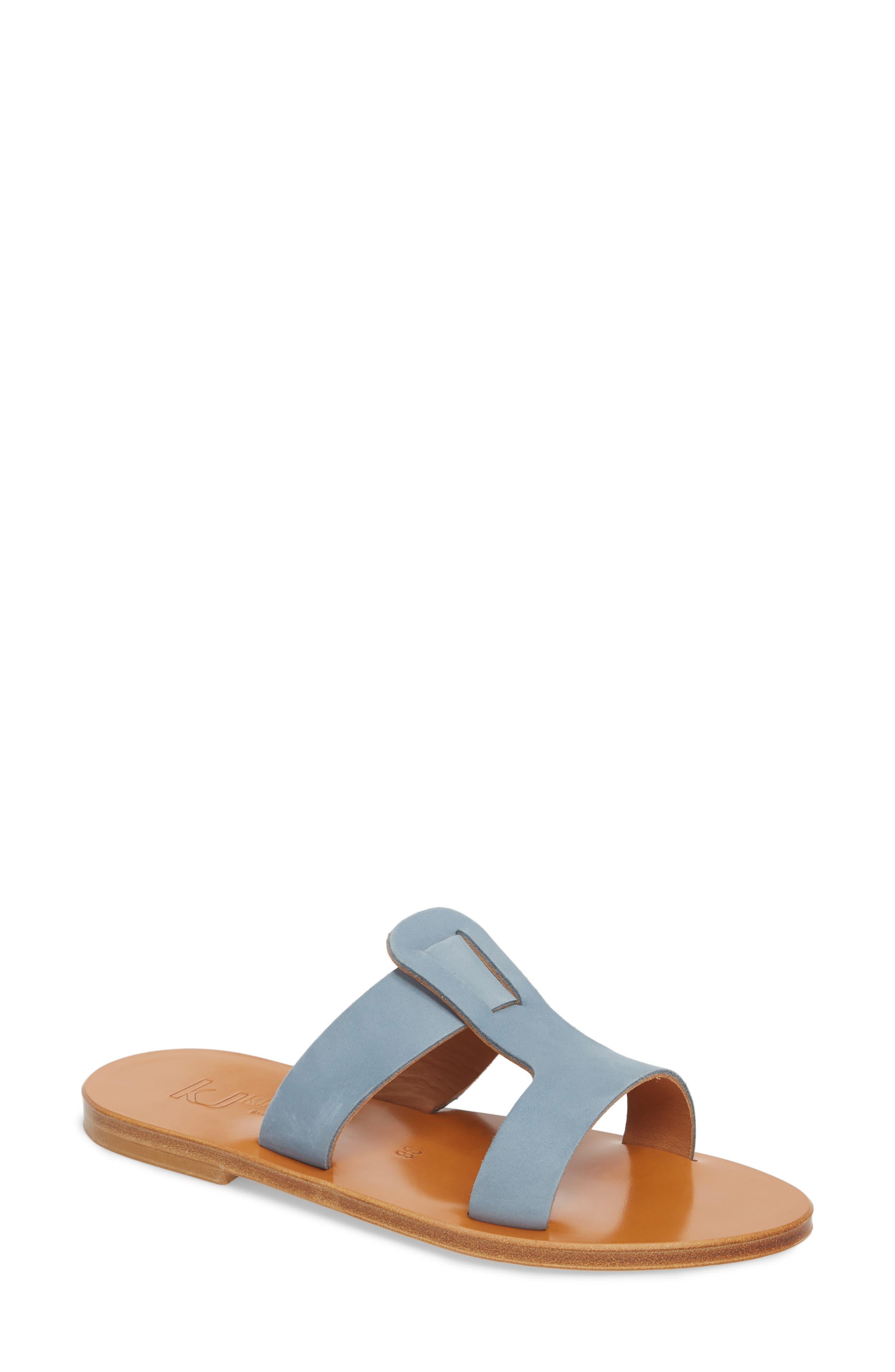 K. Jacques St. Tropez Slide Sandal,                             Main thumbnail 1, color,                             021