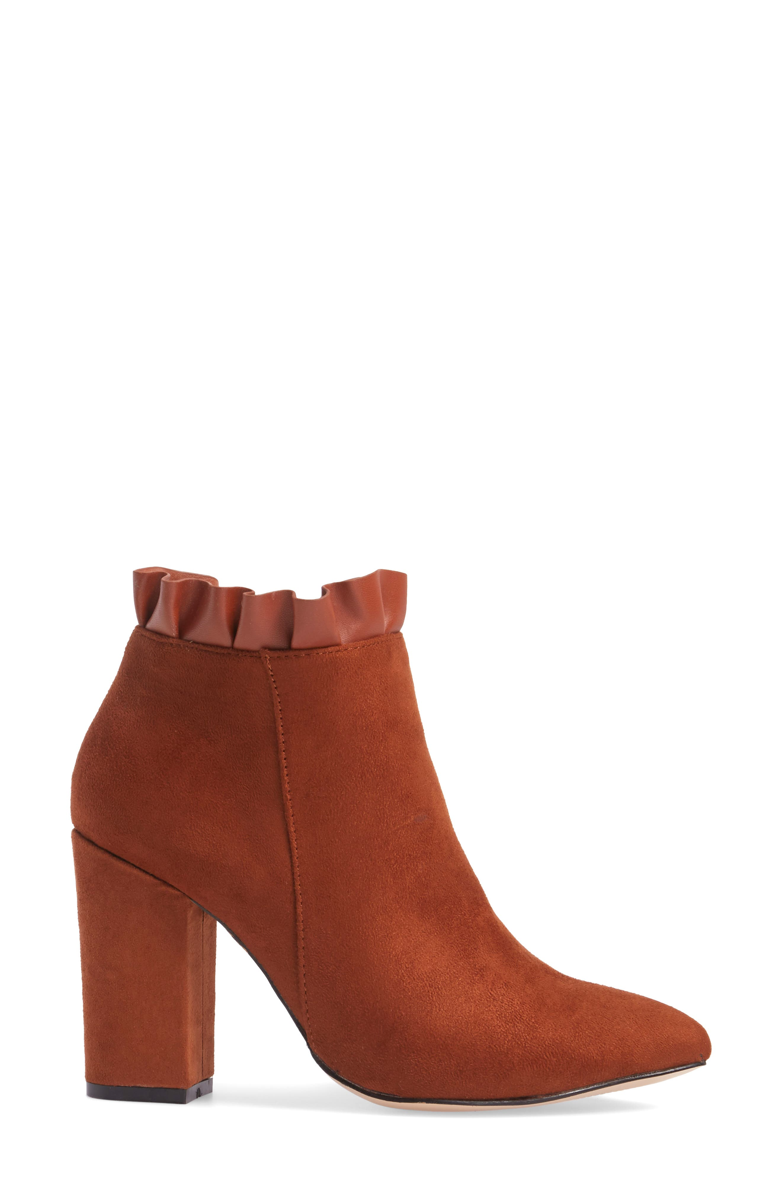 Katana Pointy Toe Bootie,                             Alternate thumbnail 8, color,
