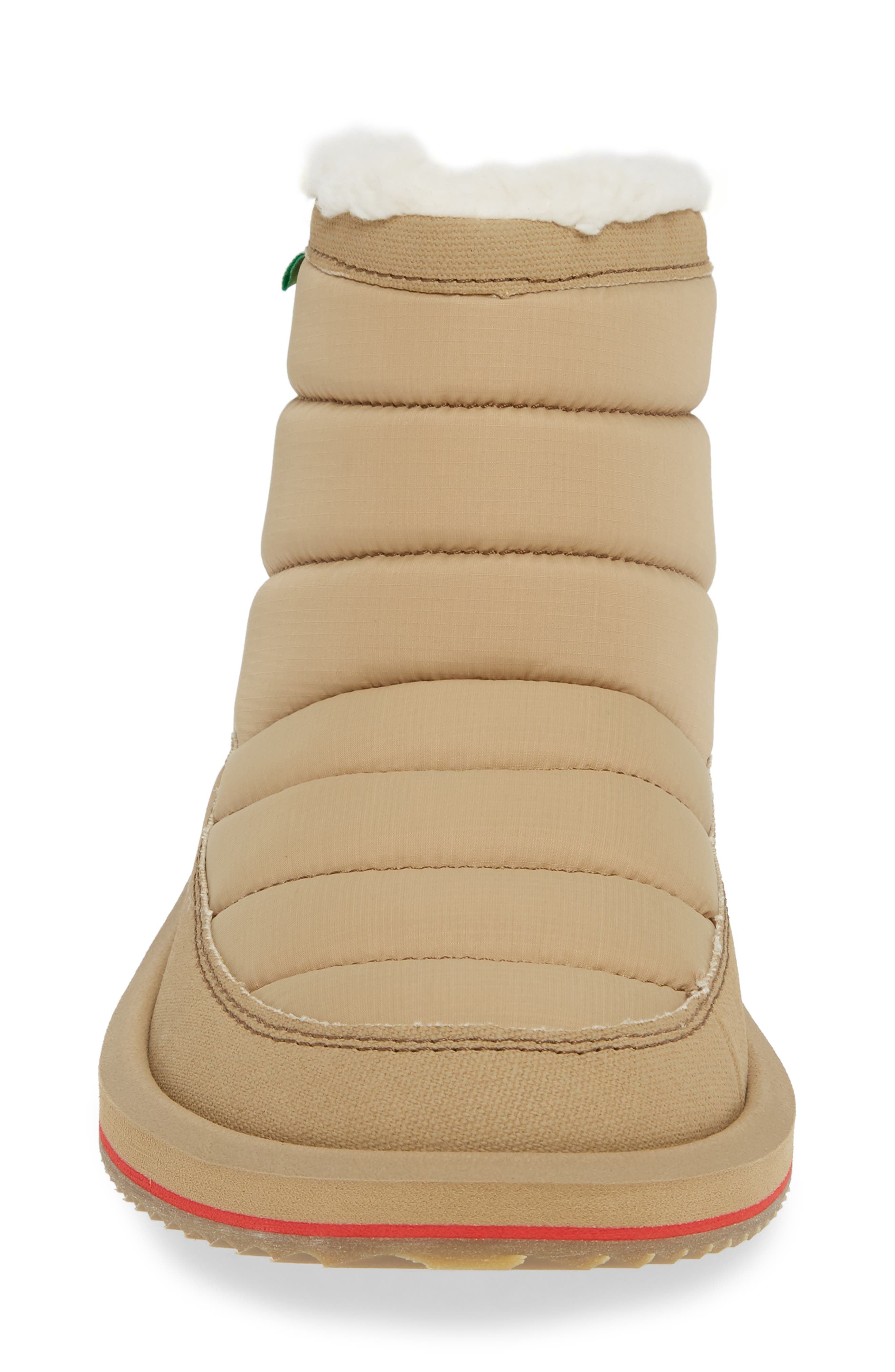 Puff & Chill Weather Boot,                             Alternate thumbnail 4, color,                             TAN
