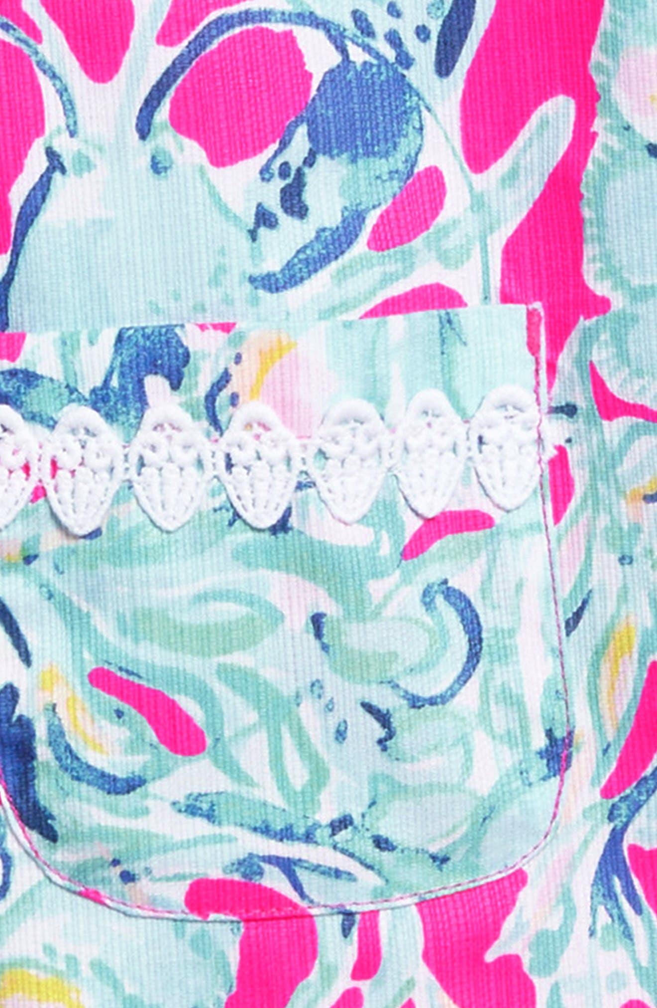 Little Lilly Shift Dress,                             Alternate thumbnail 3, color,