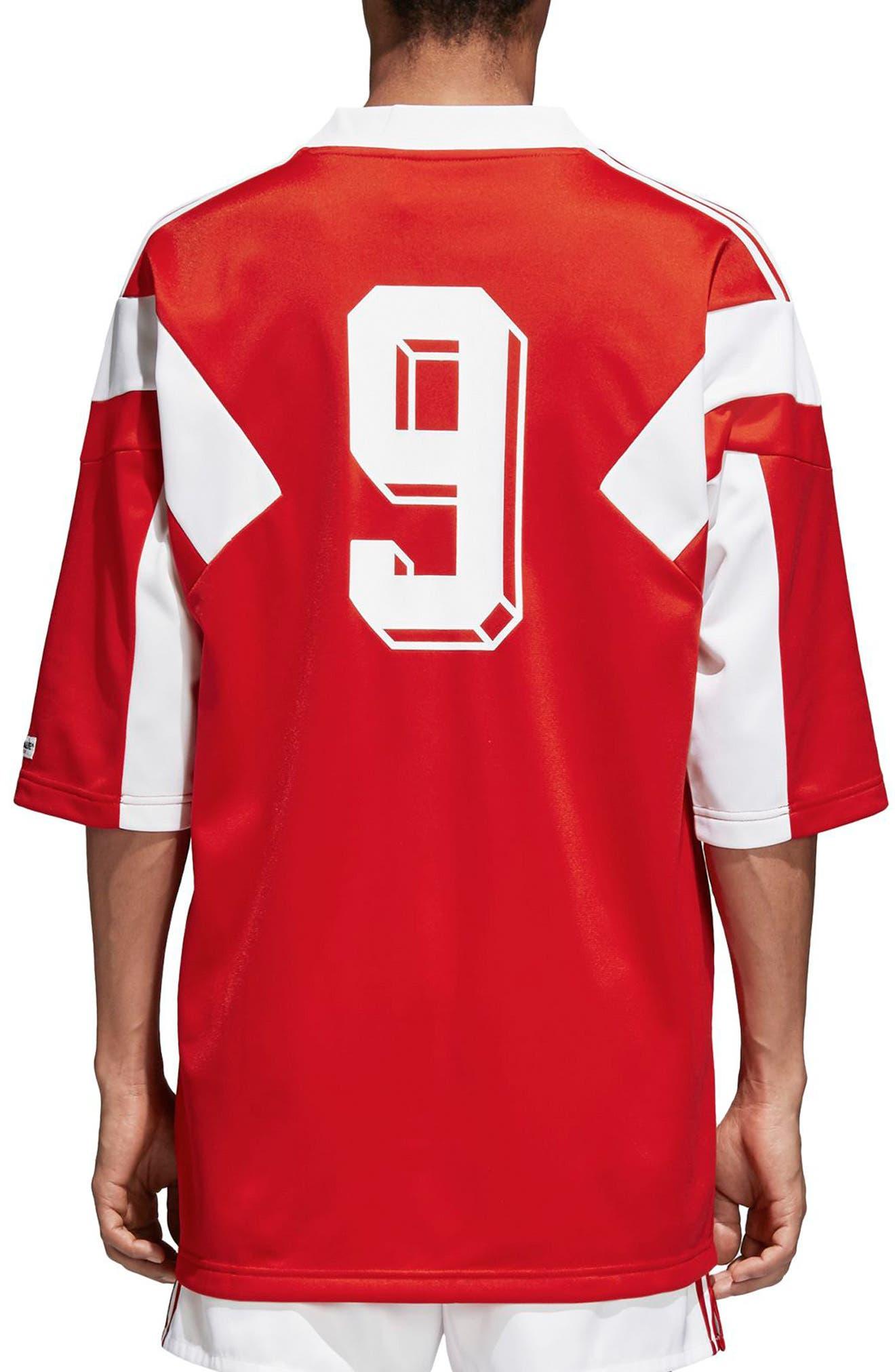 adidas Original Russia 1991 Soccer Jersey,                             Alternate thumbnail 2, color,                             610