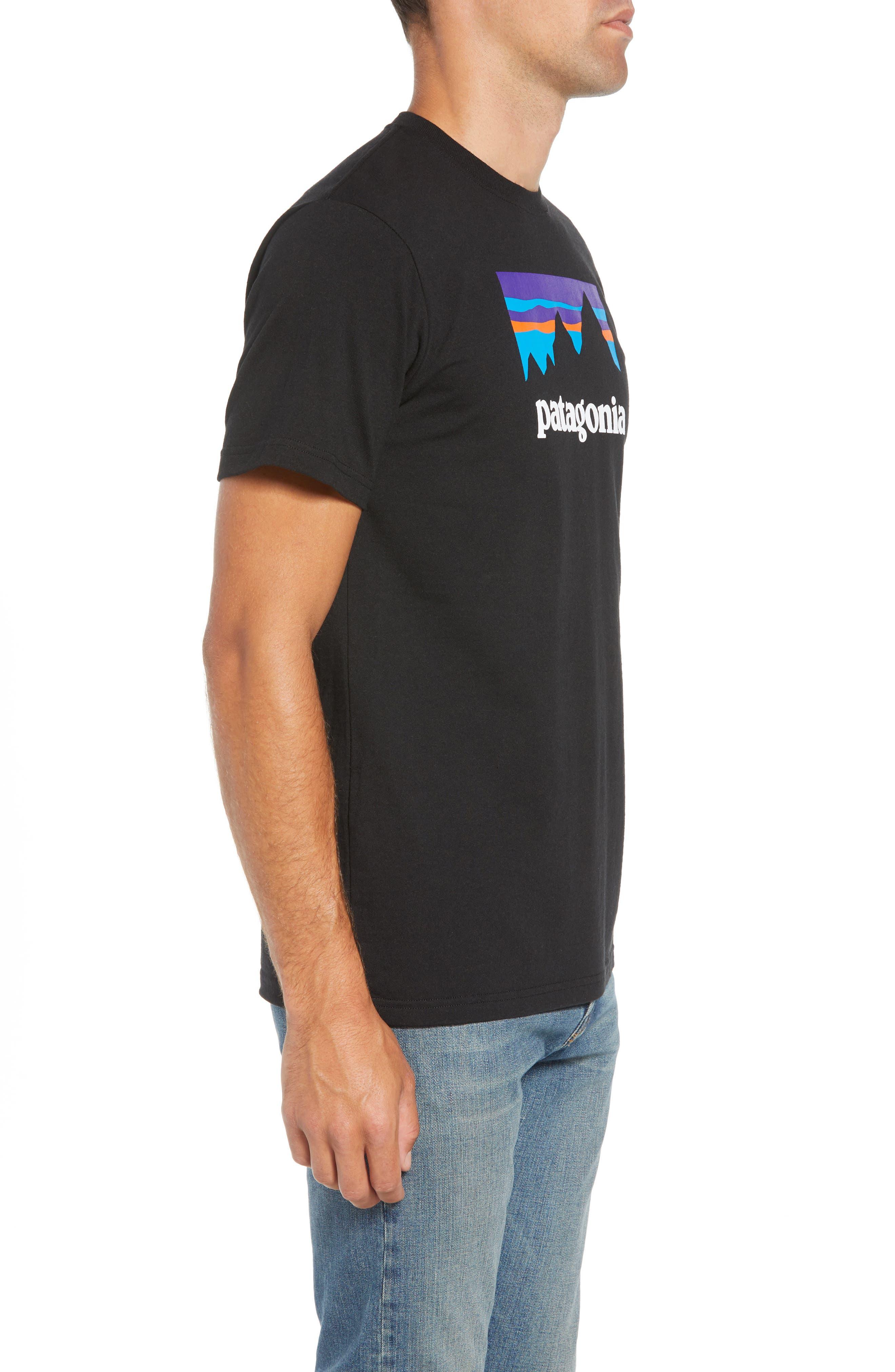 Shop Sticker Responsibili-Tee T-Shirt,                             Alternate thumbnail 3, color,                             BLACK