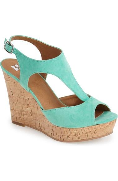 d19ed3f889aa BP.  Springs  Peep Toe Wedge Sandal (Women)