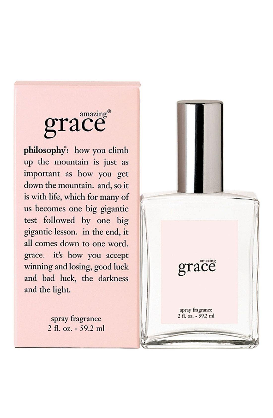 'amazing grace' eau de toilette spray,                             Alternate thumbnail 2, color,                             NO COLOR