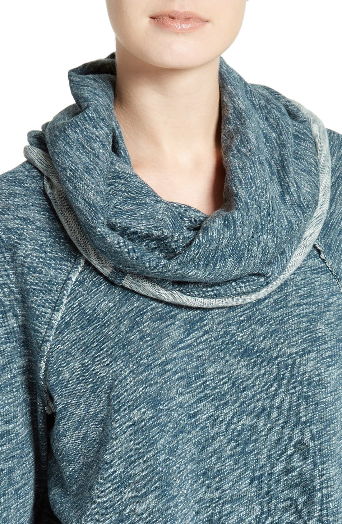 'Beach Cocoon' Cowl Neck Pullover,                             Alternate thumbnail 50, color,