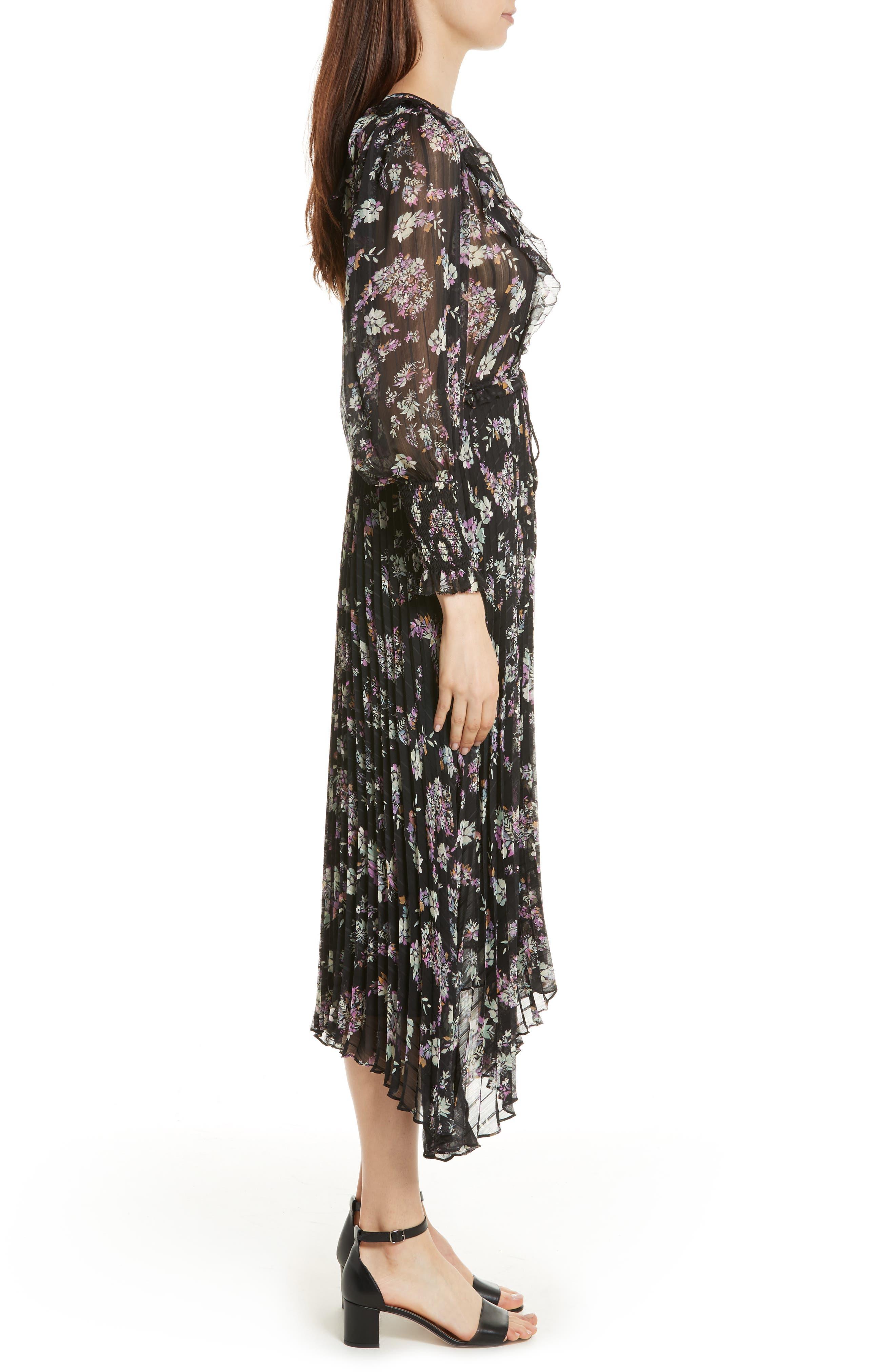Jewel Paisley Dress,                             Alternate thumbnail 3, color,                             014