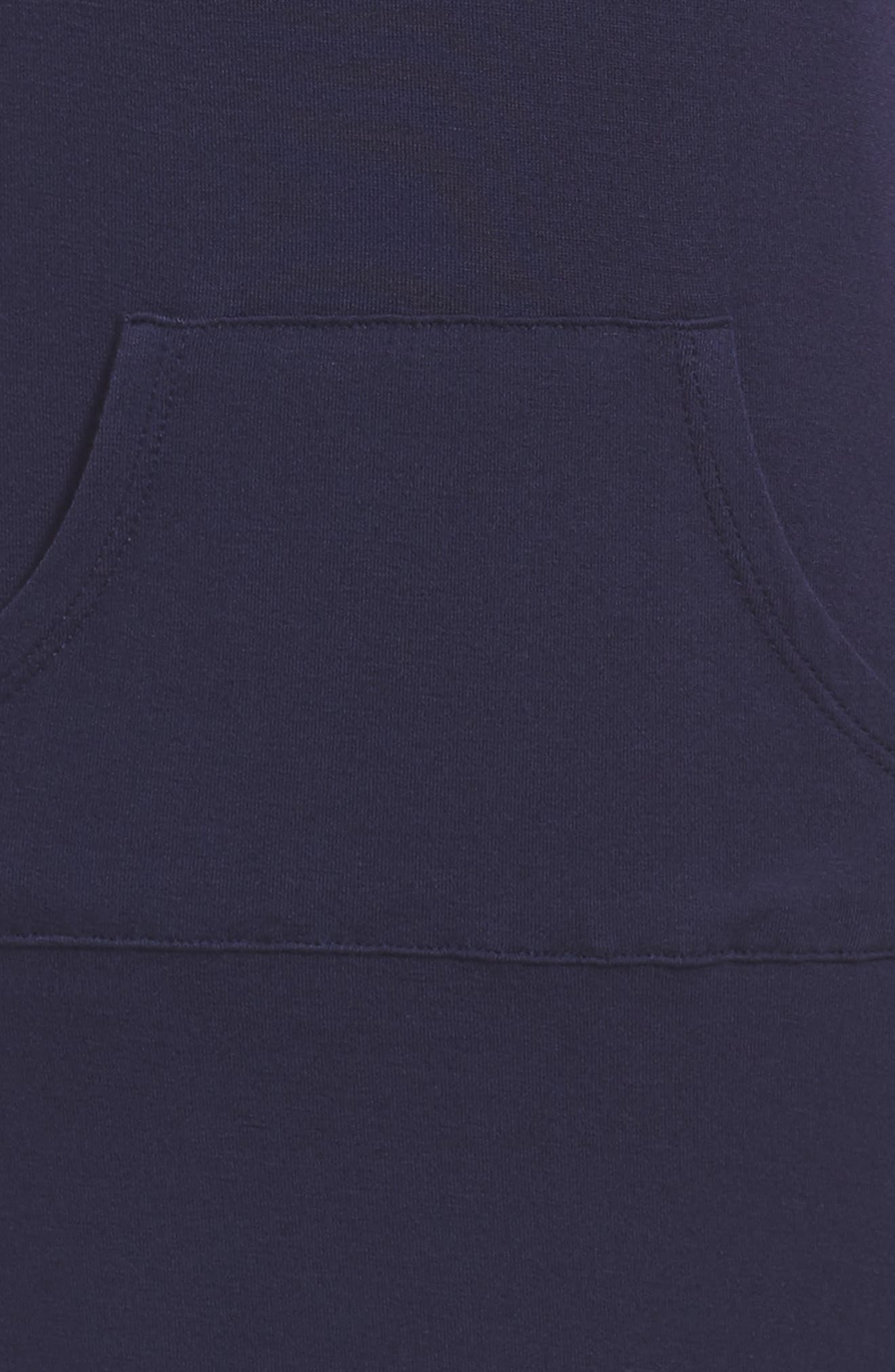 Knit Hoodie Dress,                             Alternate thumbnail 3, color,                             413
