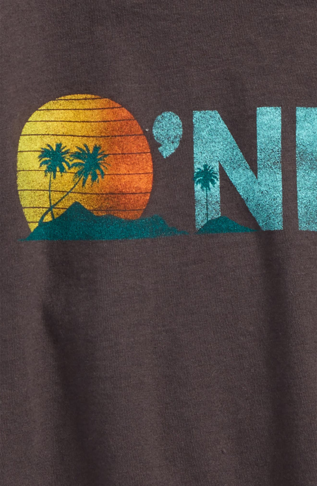 Island Adventure Graphic Tee,                             Alternate thumbnail 2, color,                             WASHED BLACK