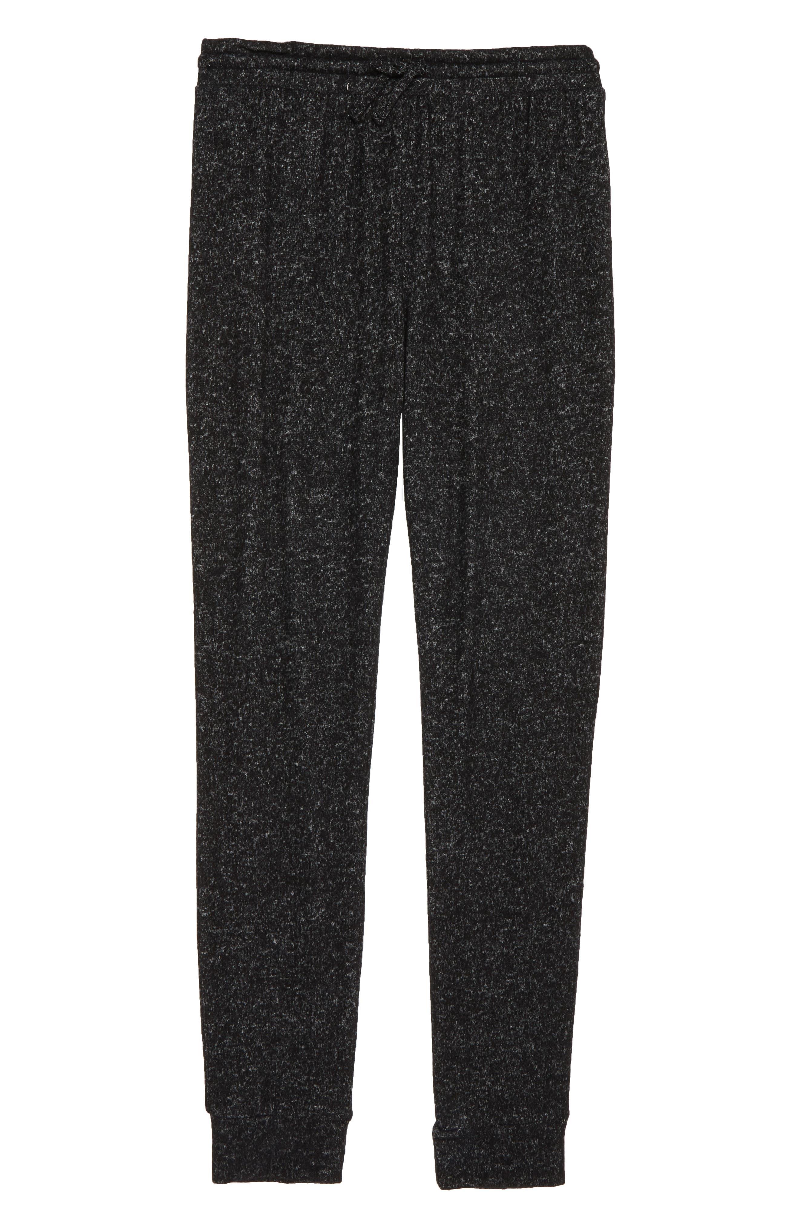 Jogger Pants,                         Main,                         color, BLACK HEATHER