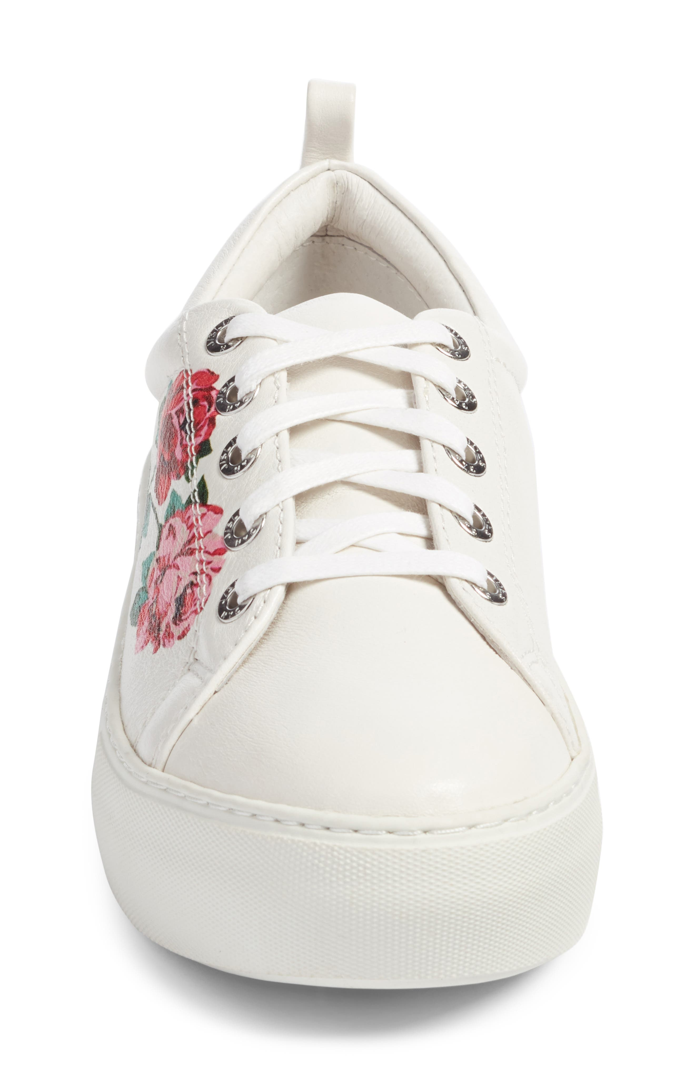 Adel Floral Sneaker,                             Alternate thumbnail 11, color,