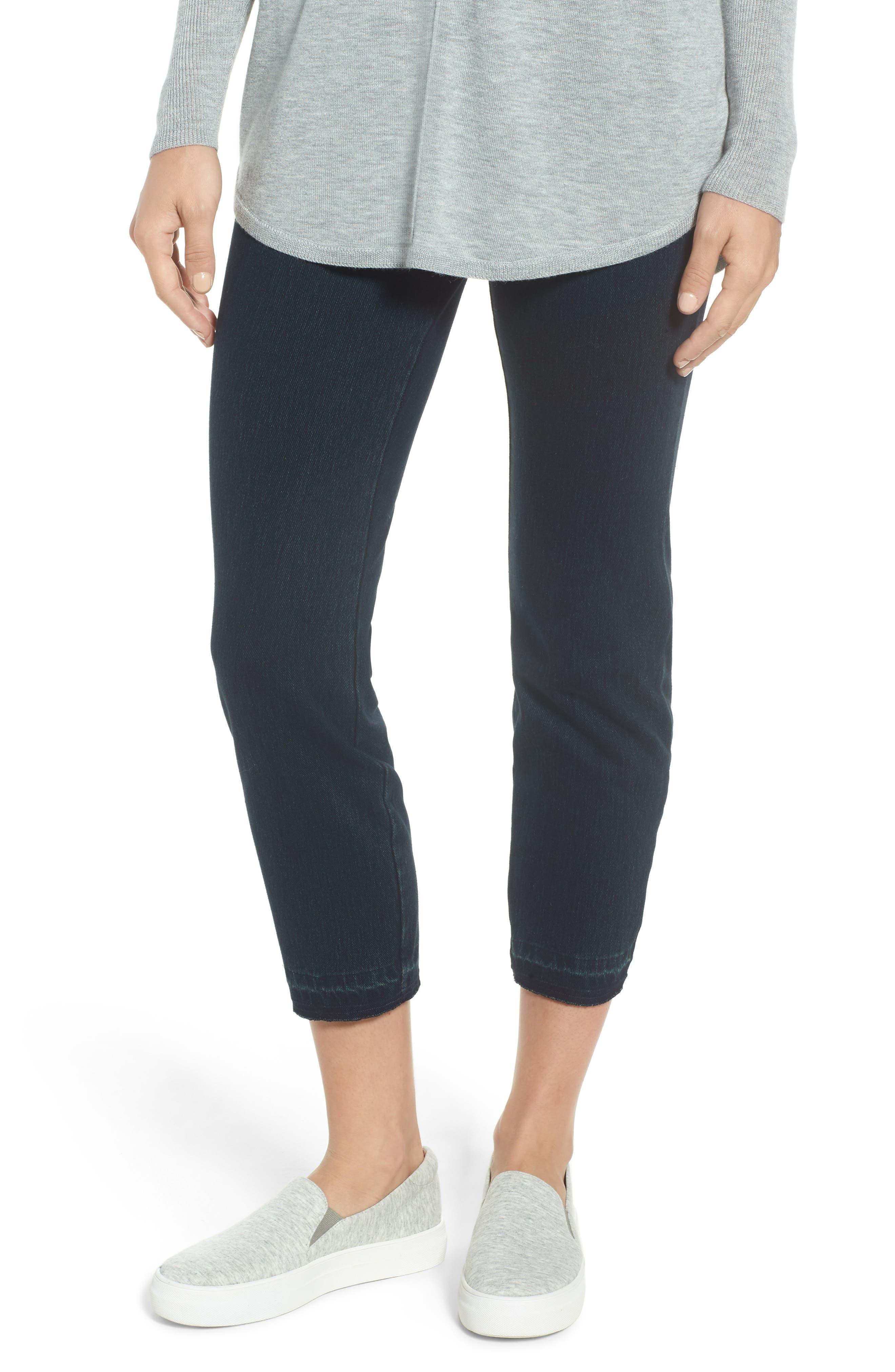 Lysse Cigarette Leg Jeans, Main, color, INDIGO