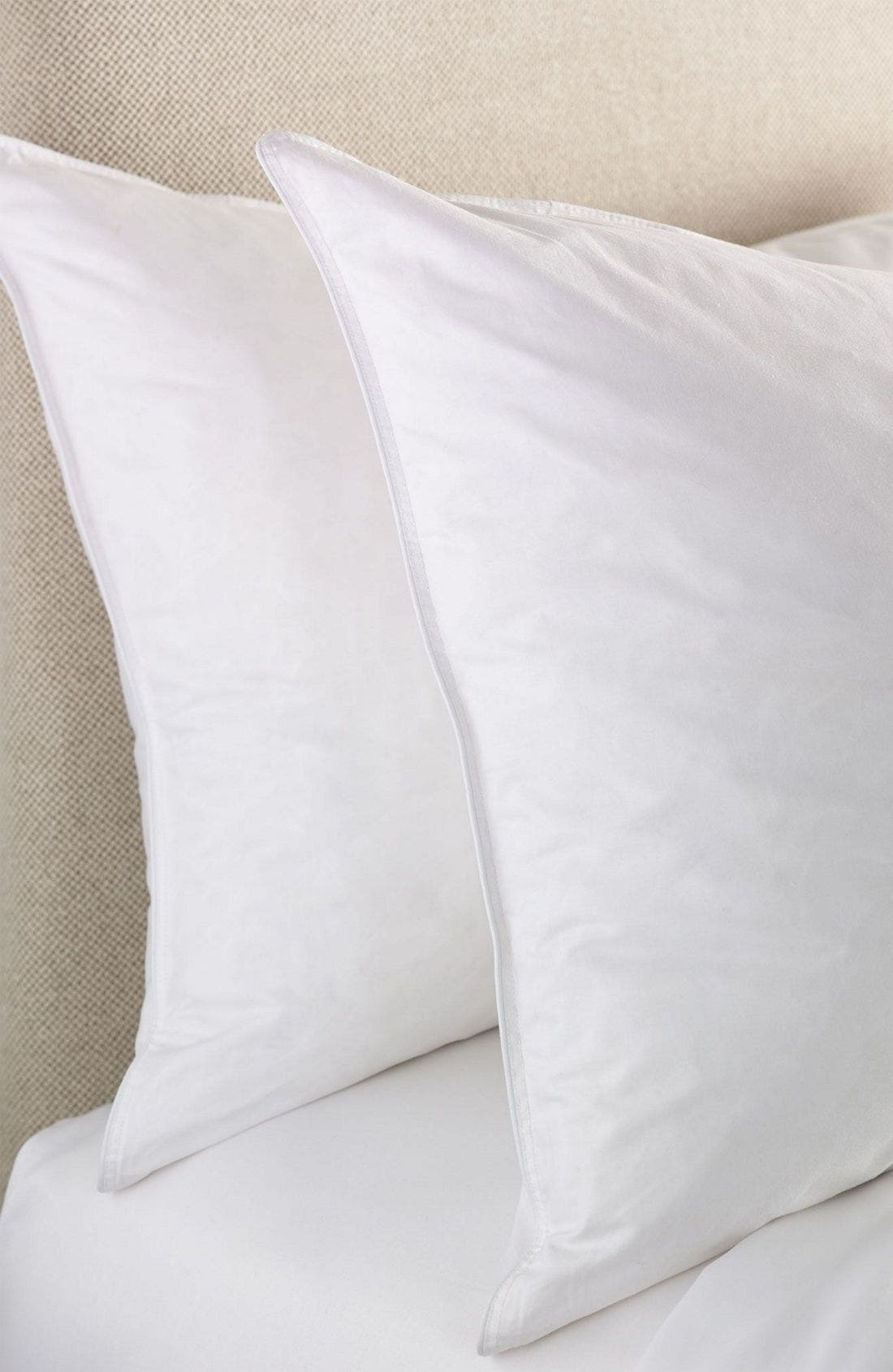 Feather & Down Pillow,                             Alternate thumbnail 2, color,                             WHI