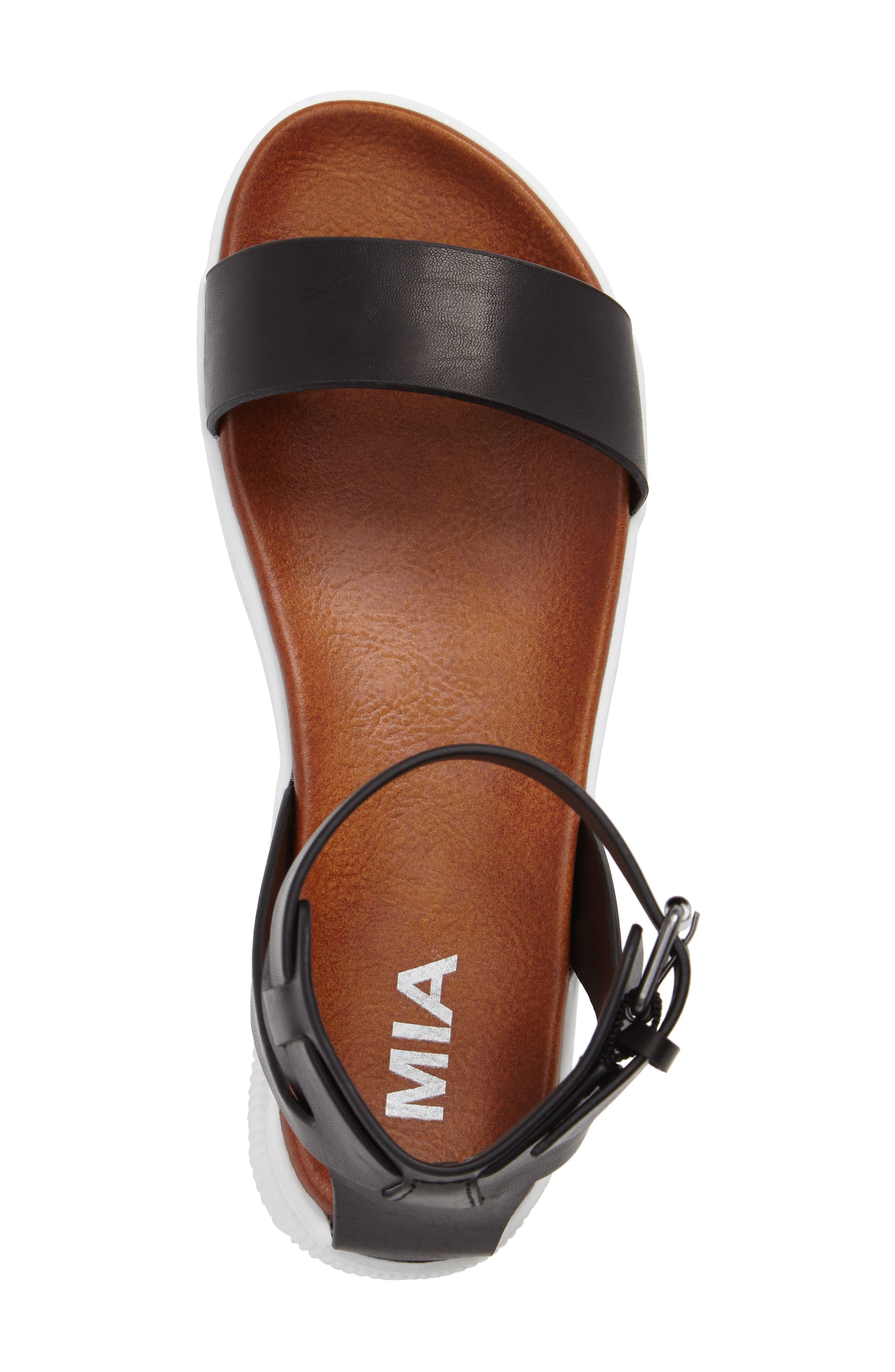 Platform Sandal,                             Alternate thumbnail 5, color,                             001