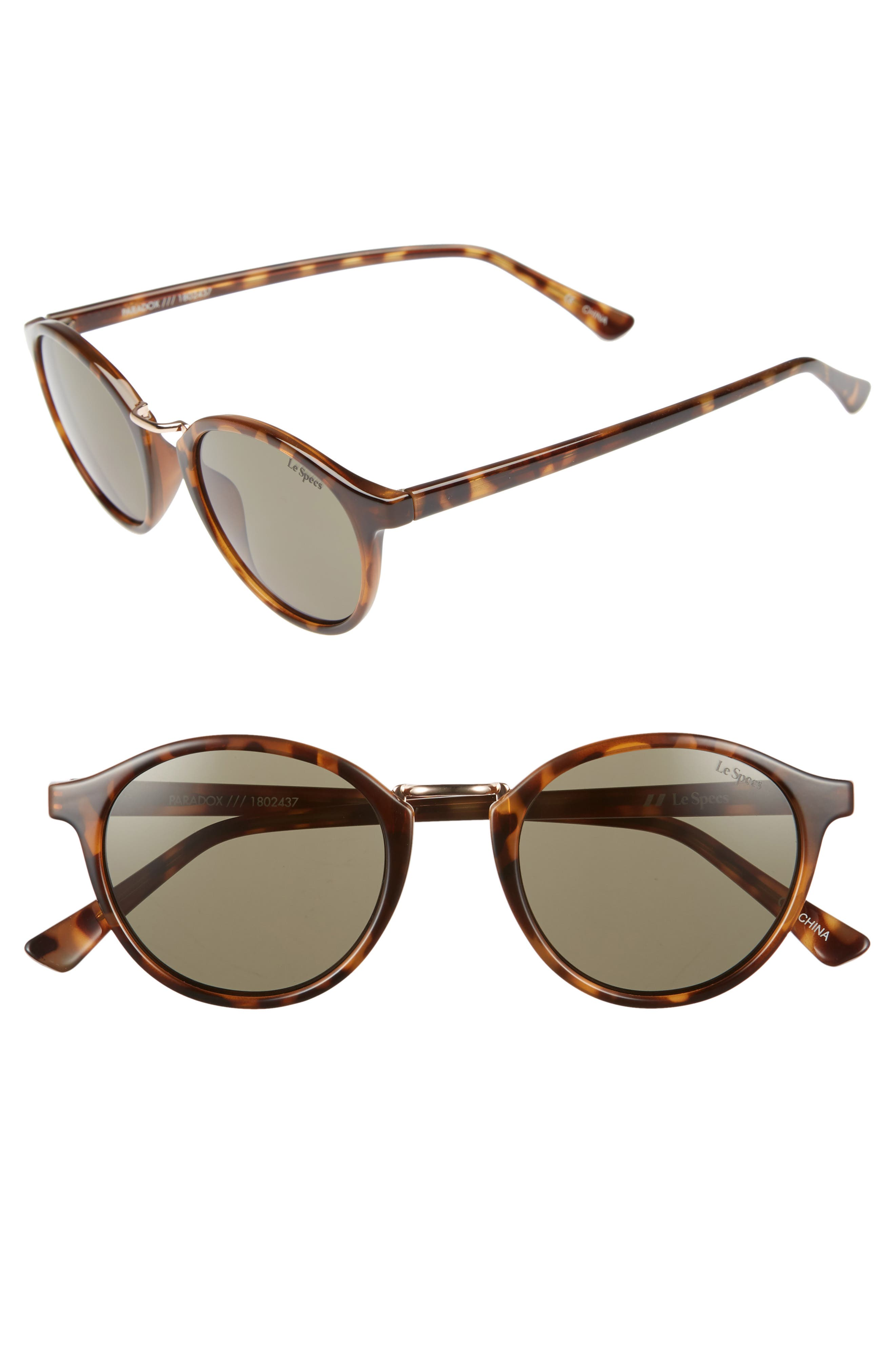 Pardox 49mm Polarized Sunglasses,                         Main,                         color, 200