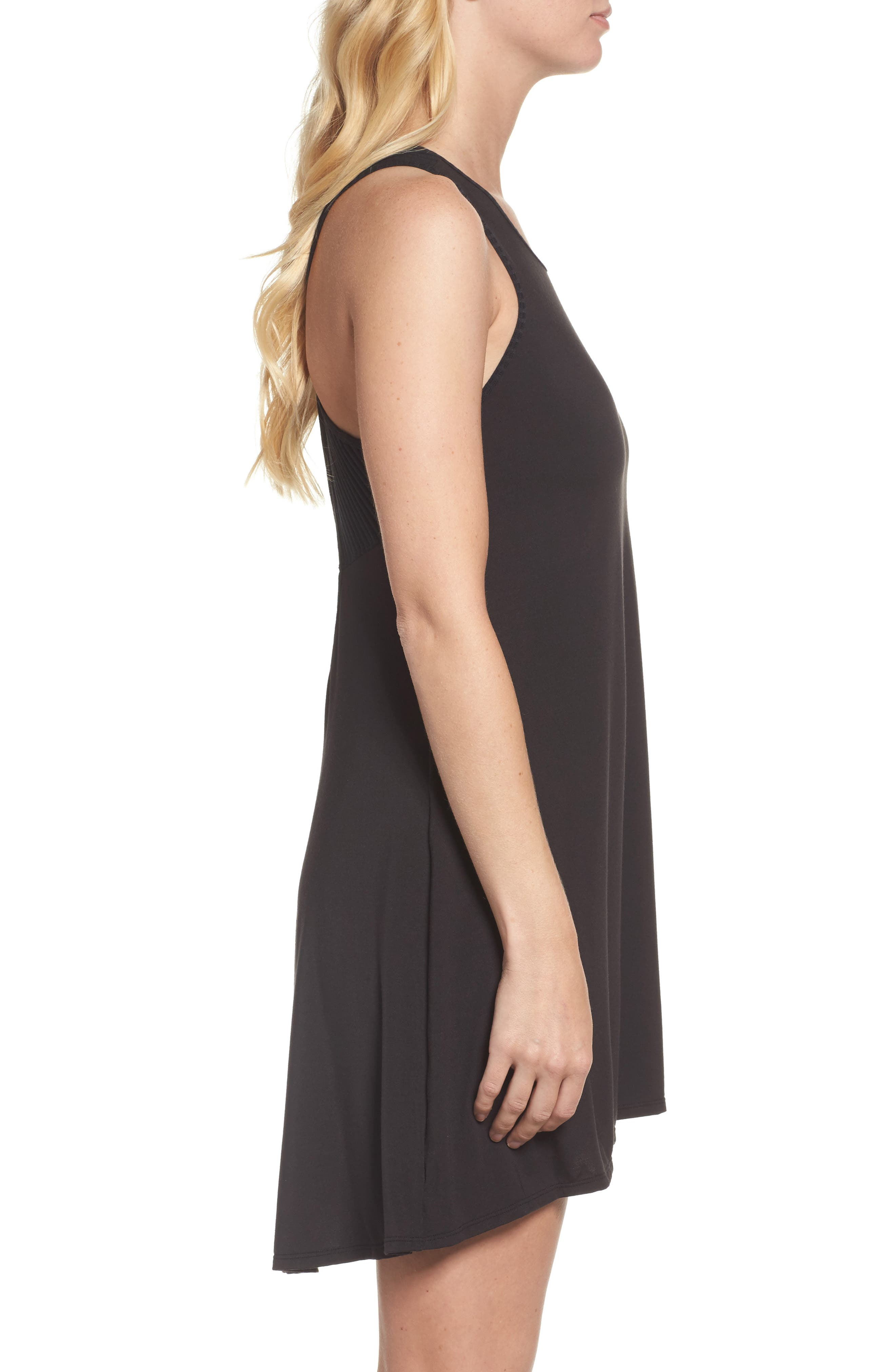 Chelsea High/Low Chemise,                             Alternate thumbnail 5, color,