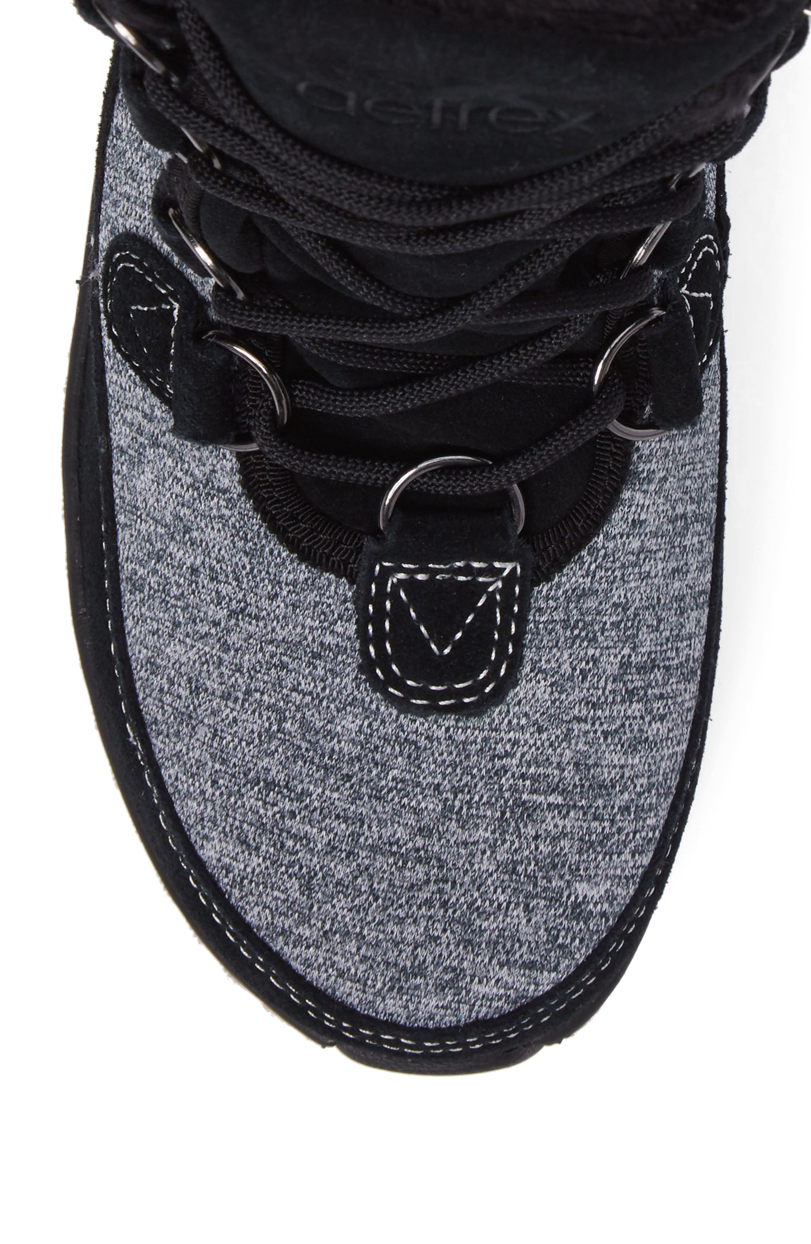 Berries Water Resistant Boot,                             Alternate thumbnail 5, color,                             MULTIBERRY SUEDE