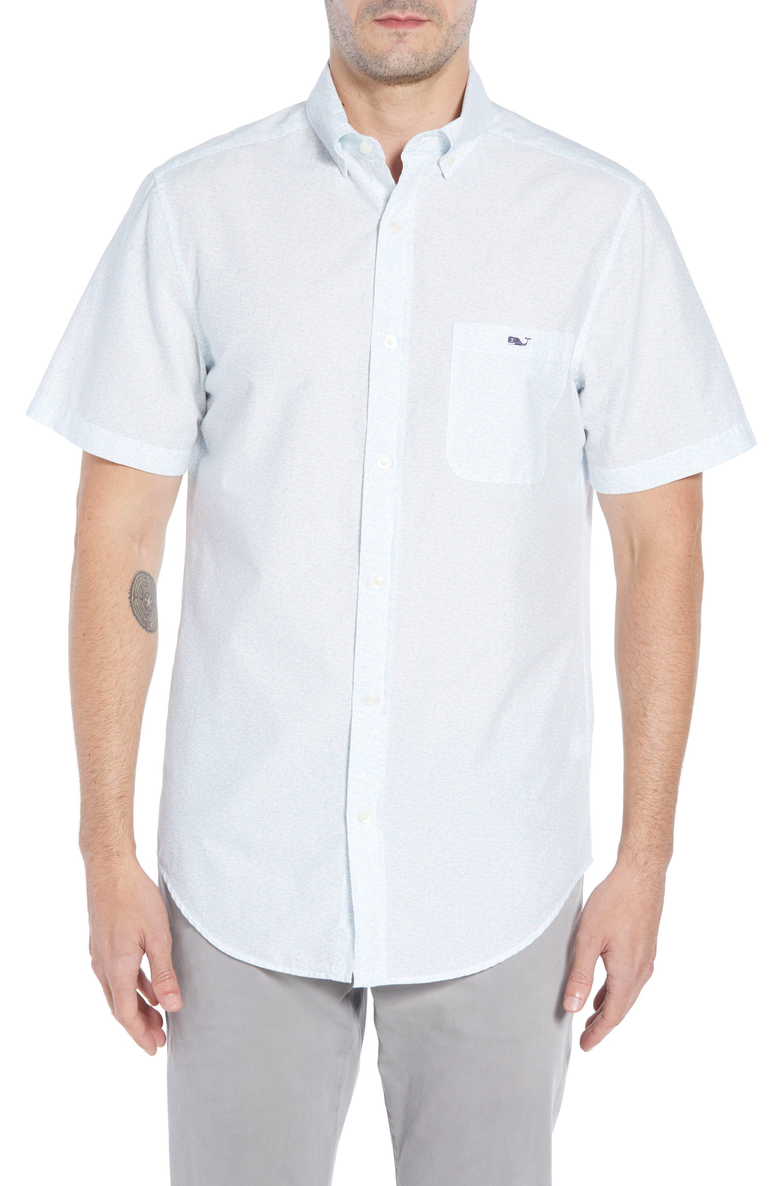 Cape Codder Slim Tucker Sport Shirt,                         Main,                         color, 100