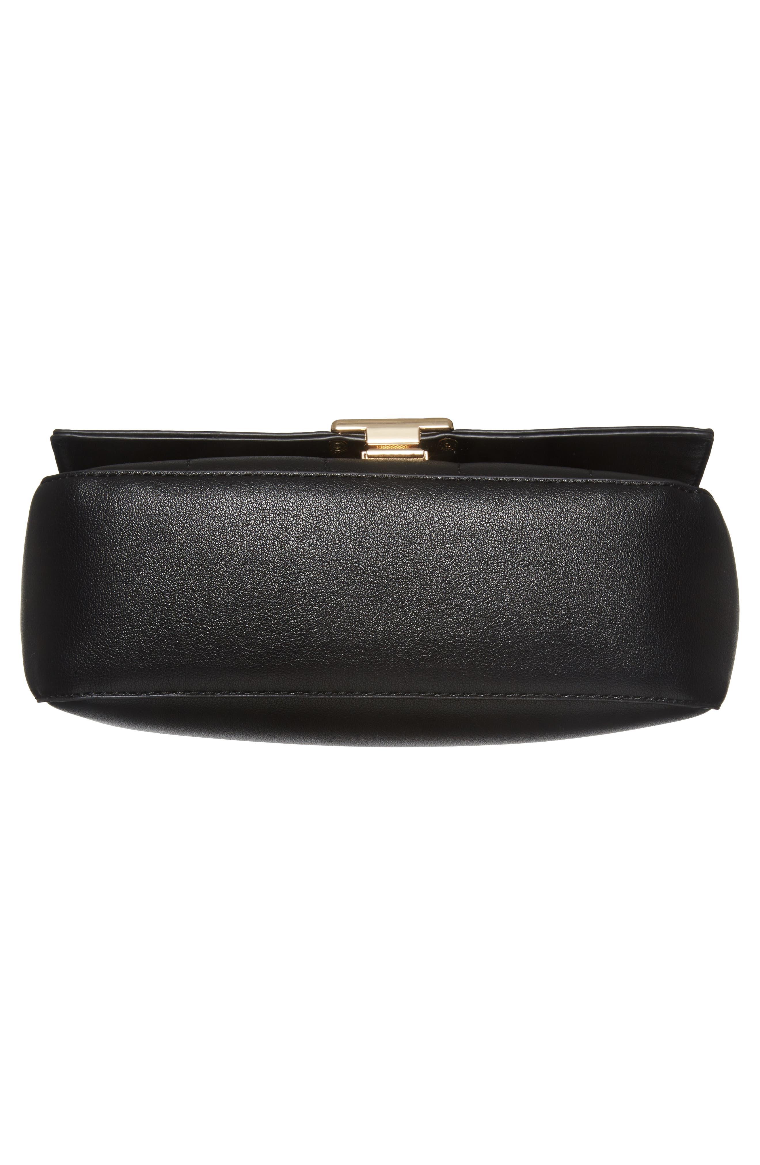 Colie Faux Leather Crossbody Bag,                             Alternate thumbnail 6, color,                             001