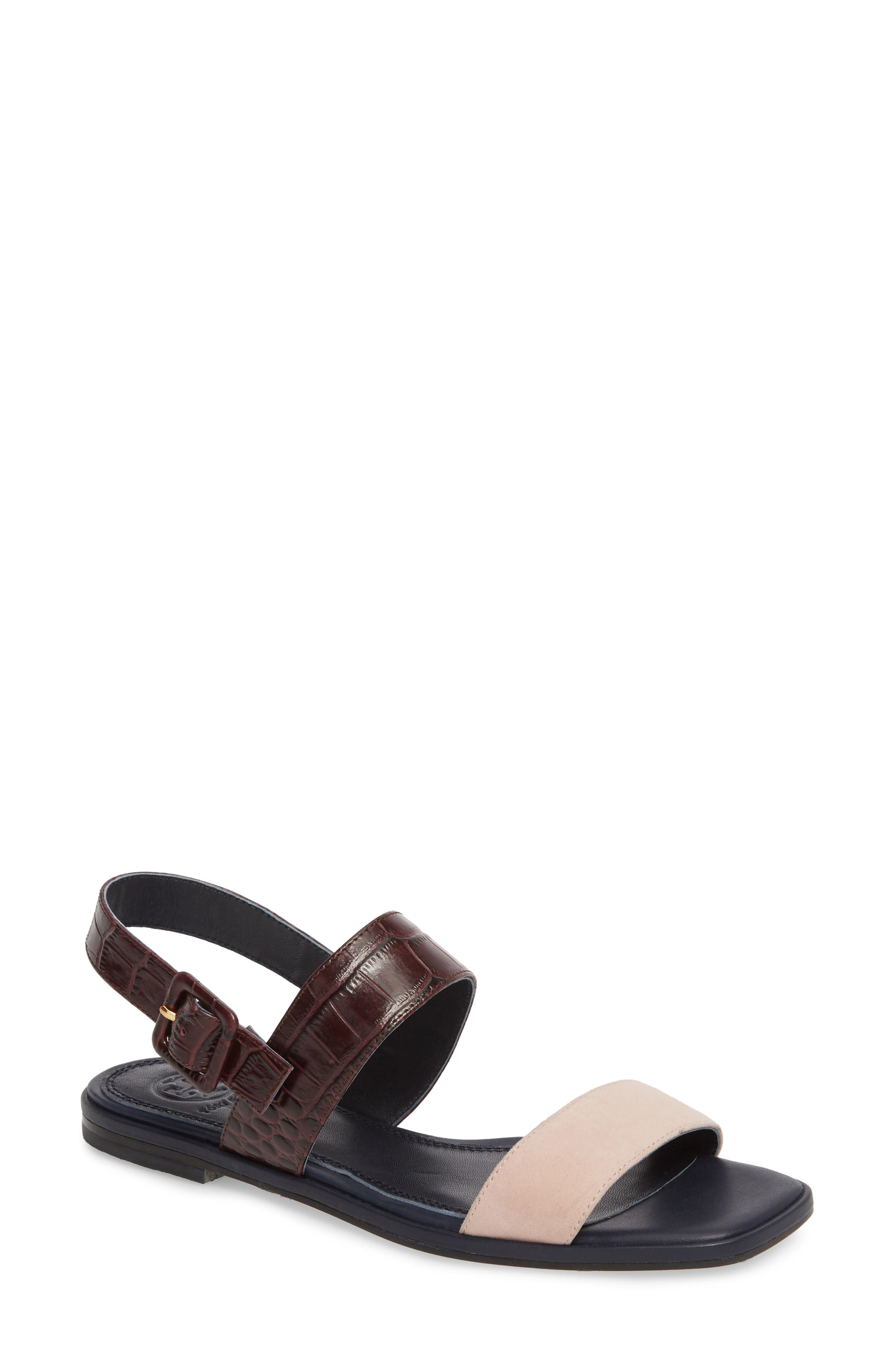 Delaney Double Strap Sandal,                             Main thumbnail 5, color,