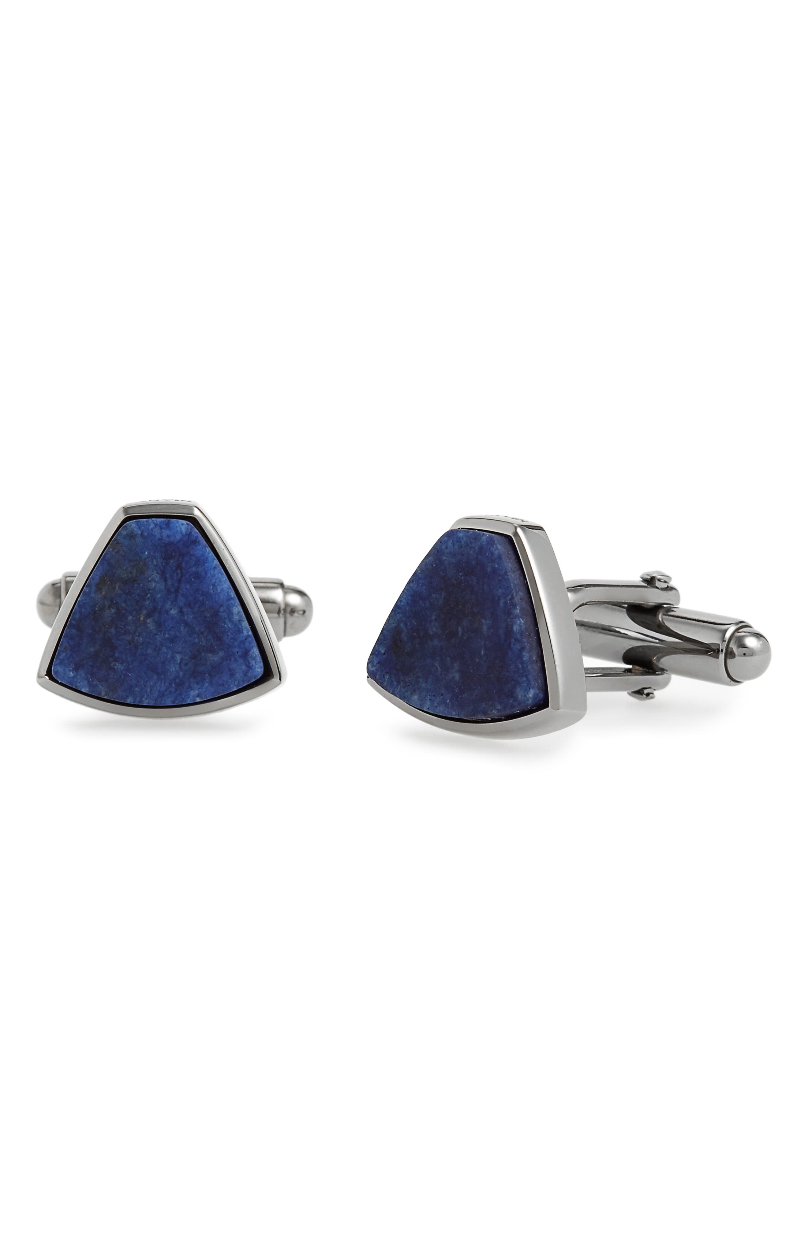 Sodalite Cuff Links,                             Main thumbnail 1, color,