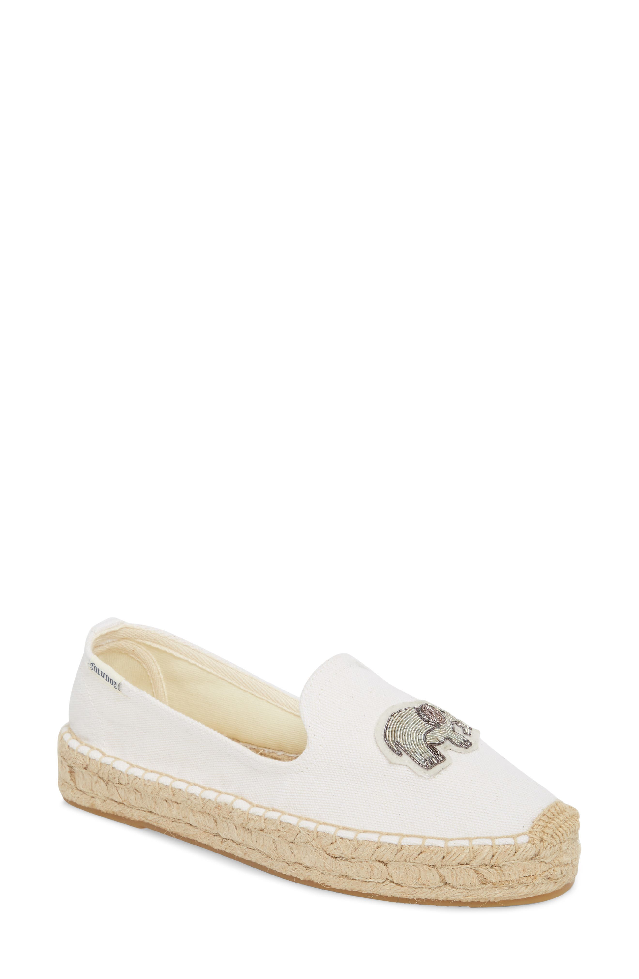 Beaded Elephant Slip-On,                         Main,                         color, 100